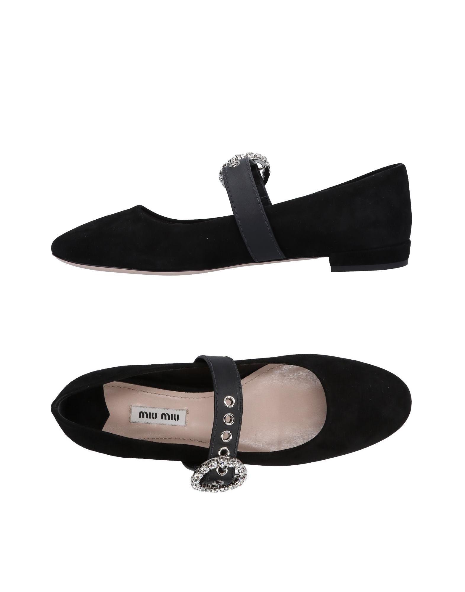 Miu Miu Ballerinas Damen  11499572ARGünstige gut aussehende Schuhe