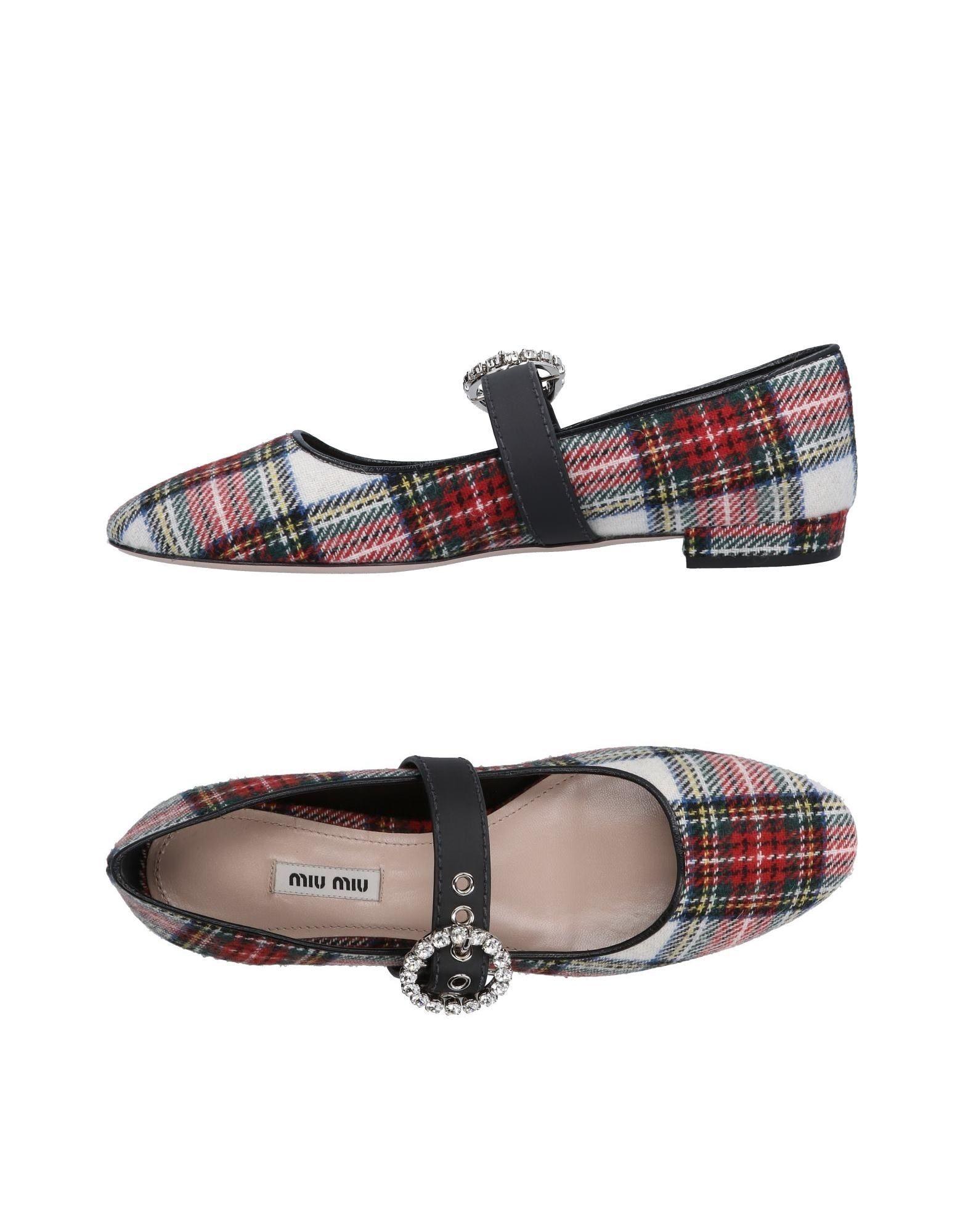 Miu Miu 11499593GVGünstige Ballerinas Damen  11499593GVGünstige Miu gut aussehende Schuhe bd3490