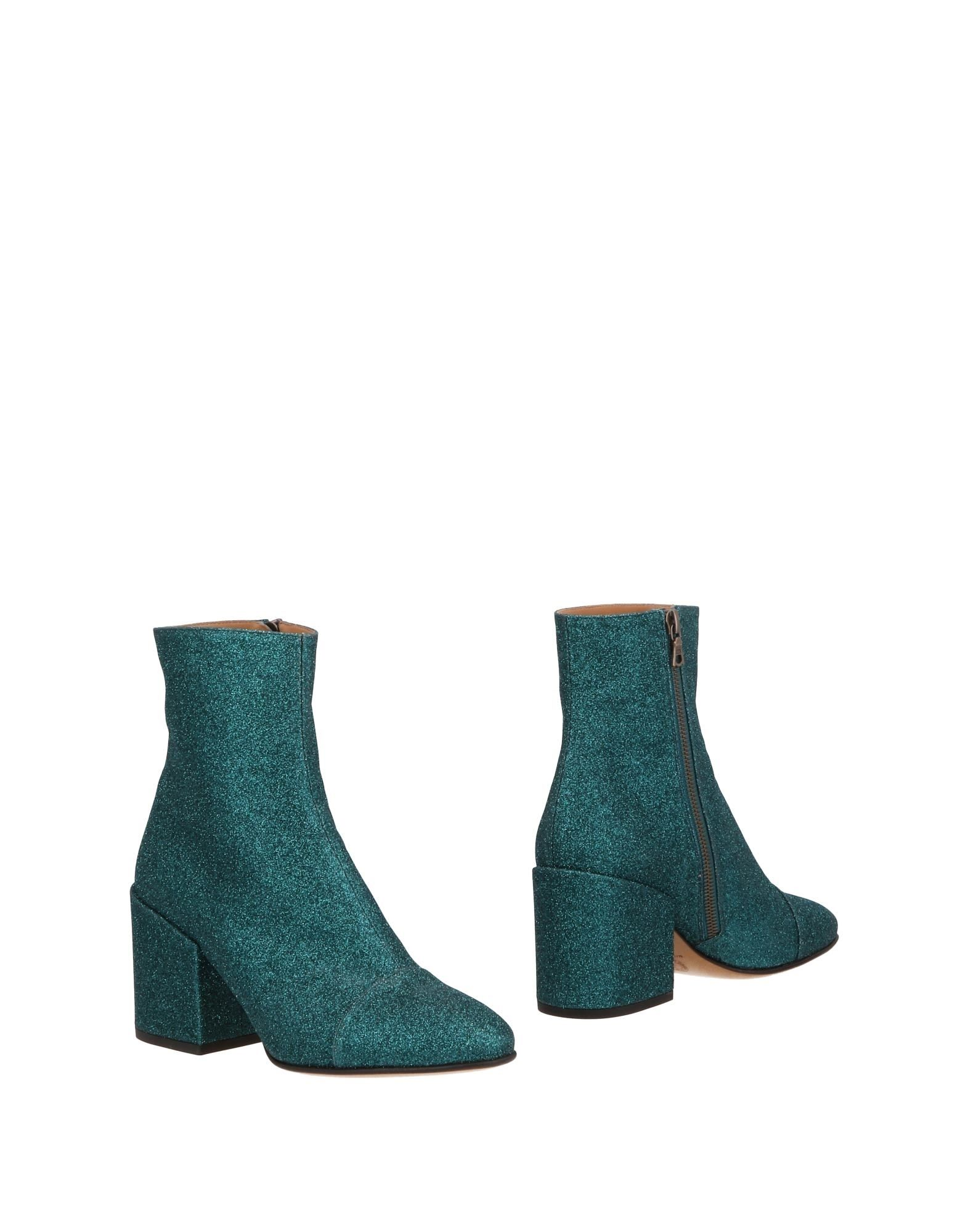 Bottine Dries Van Noten Femme - Bottines Dries Van Noten Turquoise Chaussures femme pas cher homme et femme