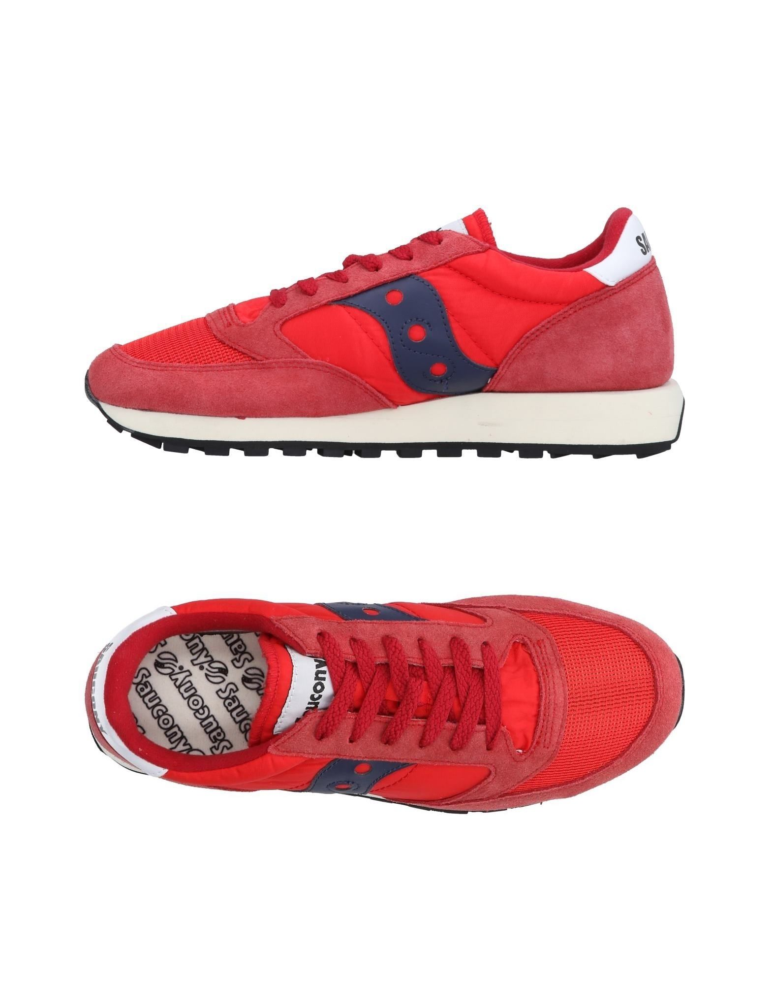 Sneakers Saucony Homme - Sneakers Saucony  Rouge Remise de marque