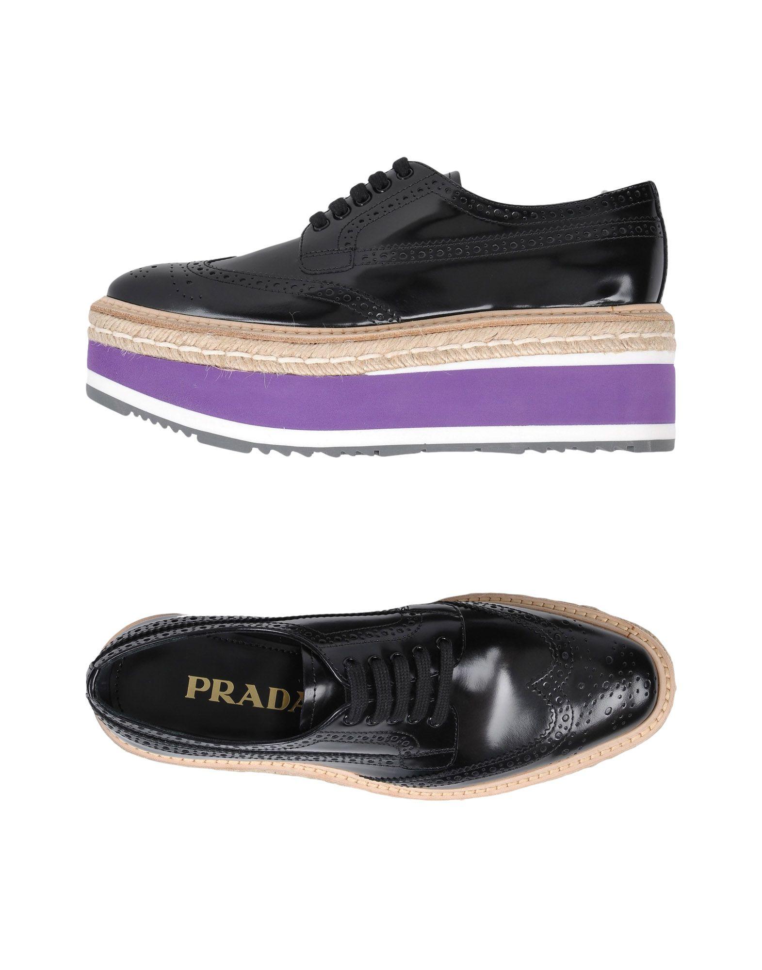Prada Schnürschuhe Damen  11500001VUGünstige gut aussehende Schuhe