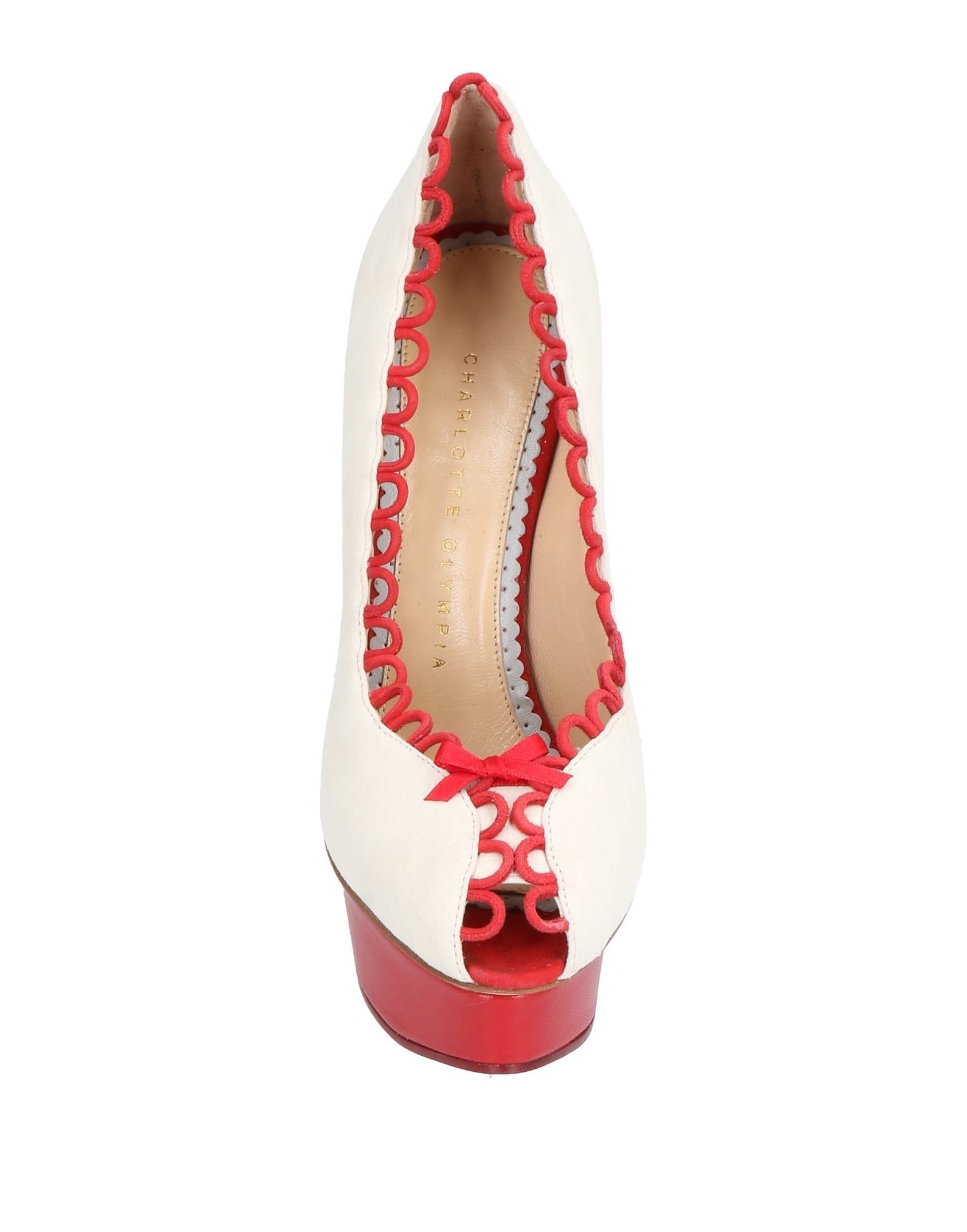 Charlotte Olympia Pumps aussehende Damen  11500063OAGünstige gut aussehende Pumps Schuhe 0be29f