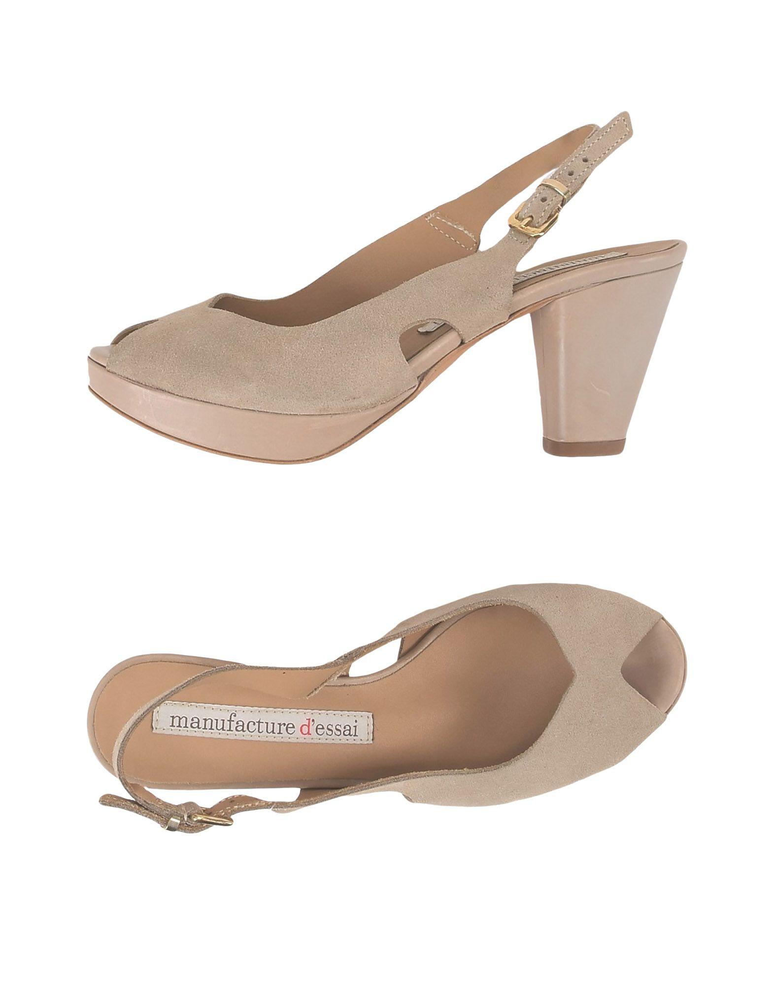 Manufacture D'essai Sandalen Damen  11500097GJ Gute Qualität beliebte Schuhe