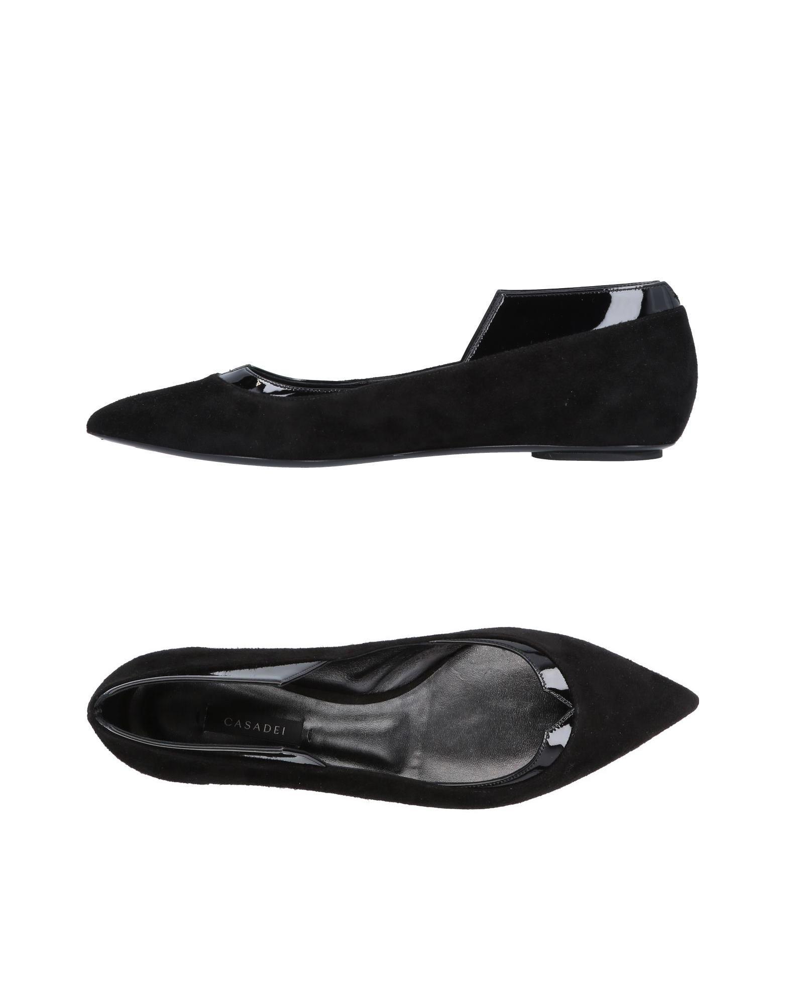 Haltbare Mode billige Schuhe Casadei Ballerinas Damen  11500496OL Heiße Schuhe
