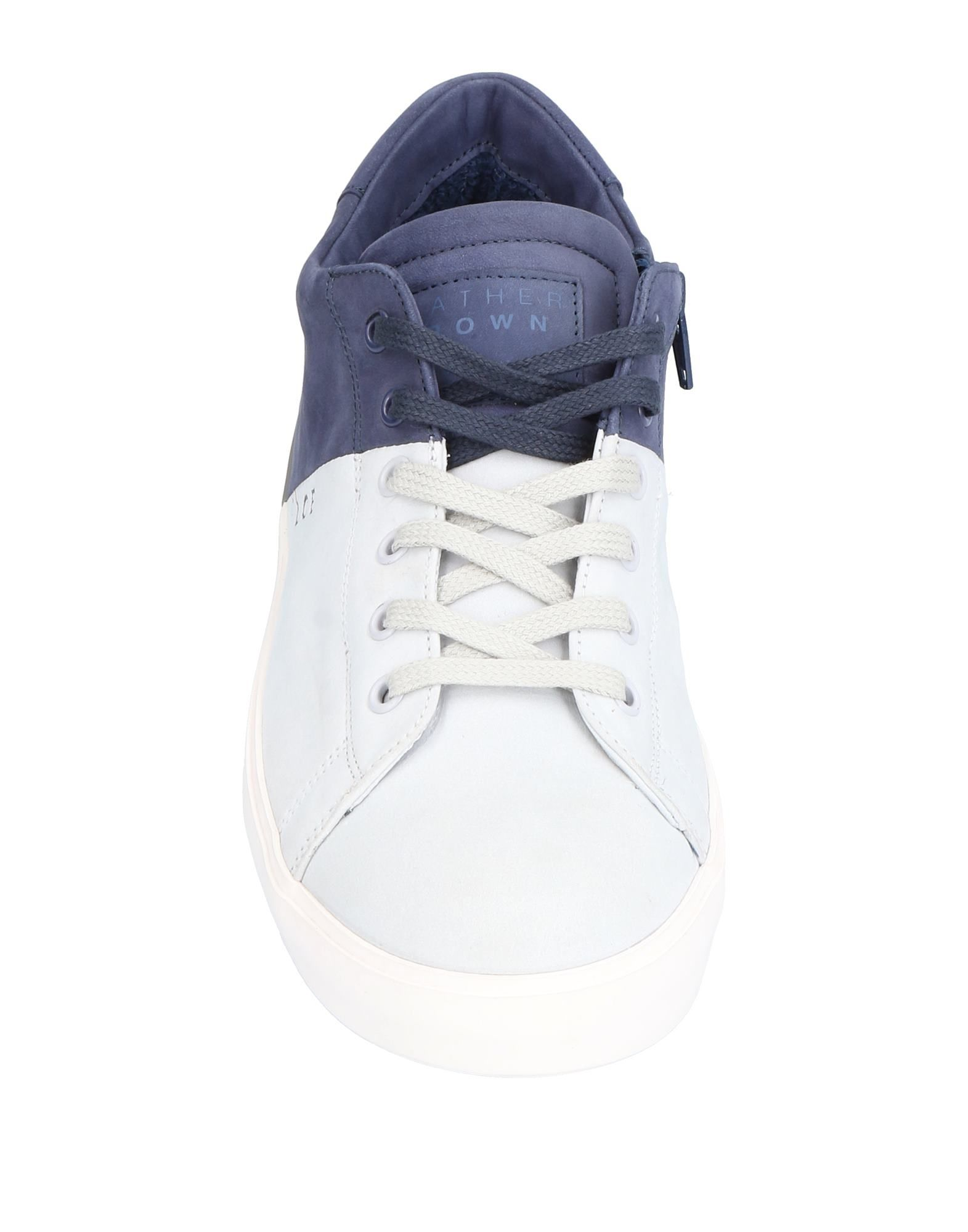 Leather Crown Crown Leather Sneakers Herren  11500766OL 96e79e