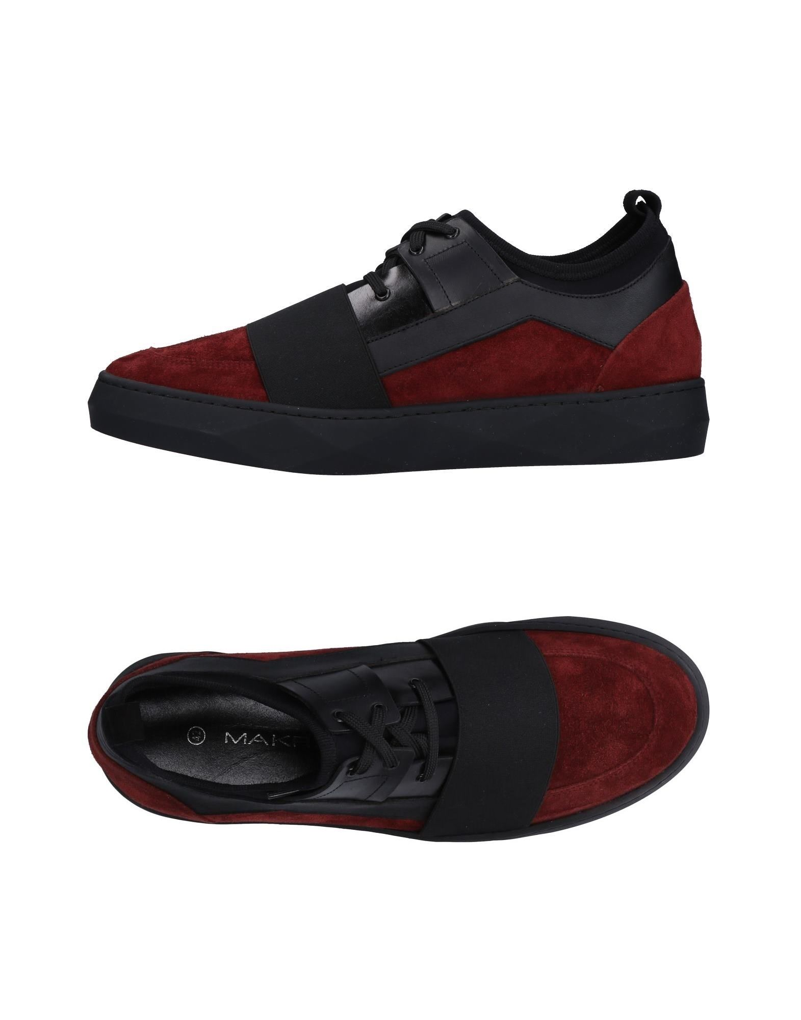 Sneakers Makris Homme - Sneakers Makris  Brique Chaussures casual sauvages