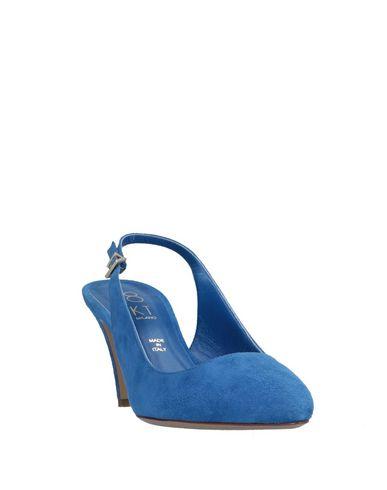 Kt Escarpins Bleu D'azur 18 18 Kt z0ZEqE