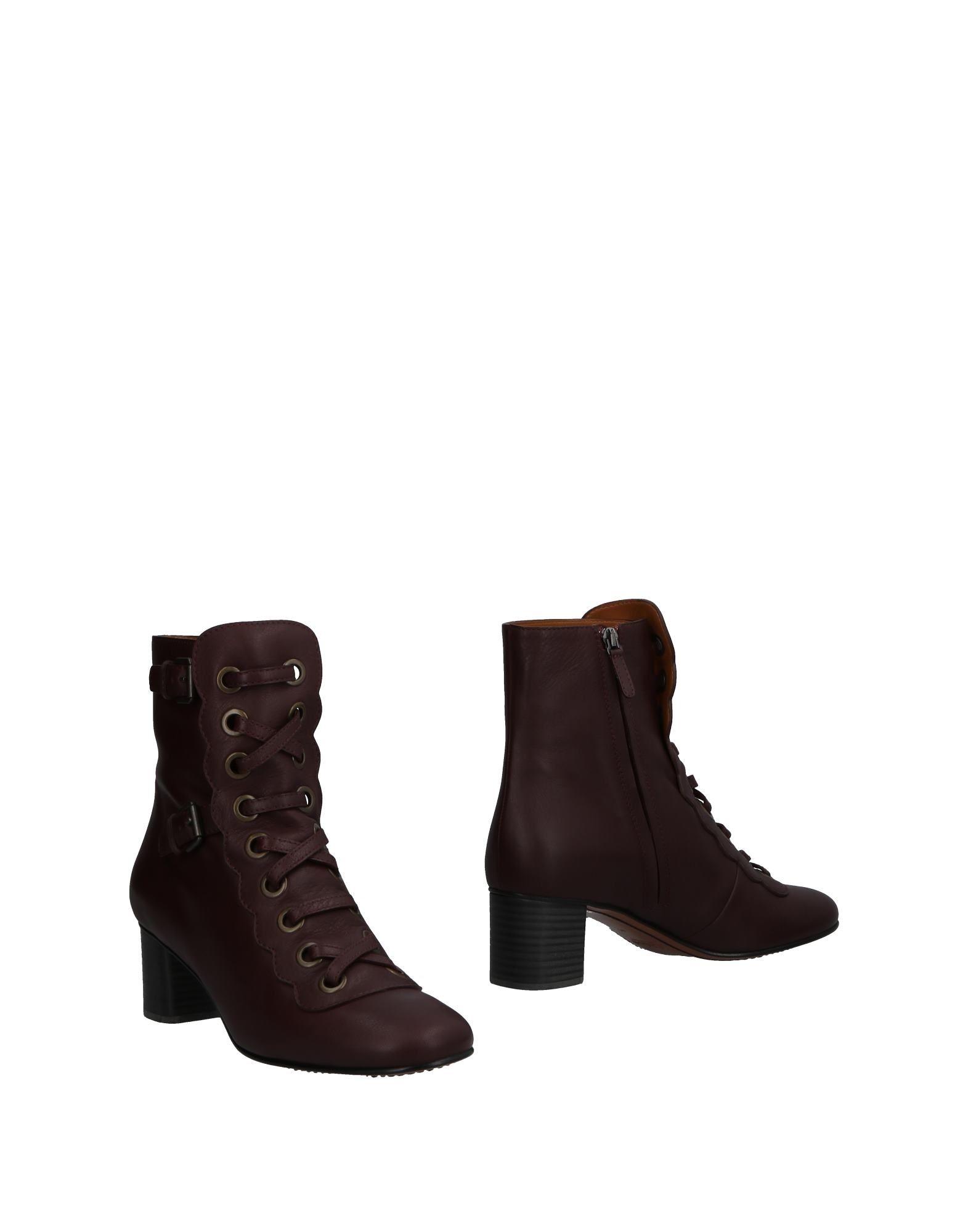 Haltbare Mode billige Schuhe Chloé Stiefelette Damen  11500941UQ Heiße Schuhe