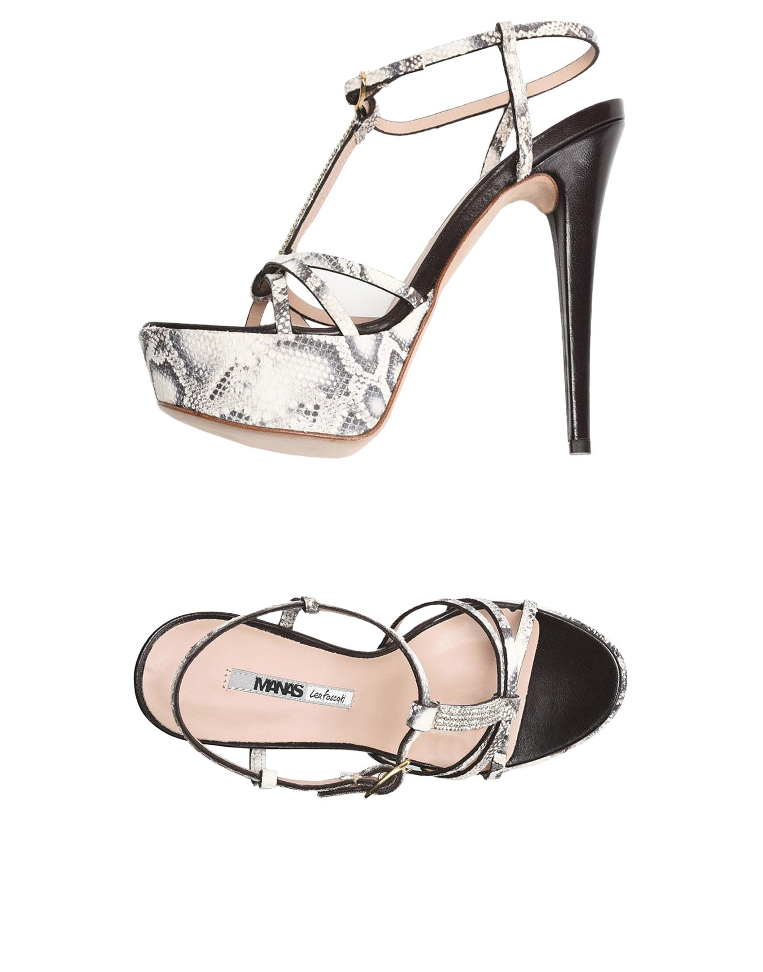 Gut um billige Damen Schuhe zu tragenManas Lea Foscati Sandalen Damen billige  11500975PM 90423b