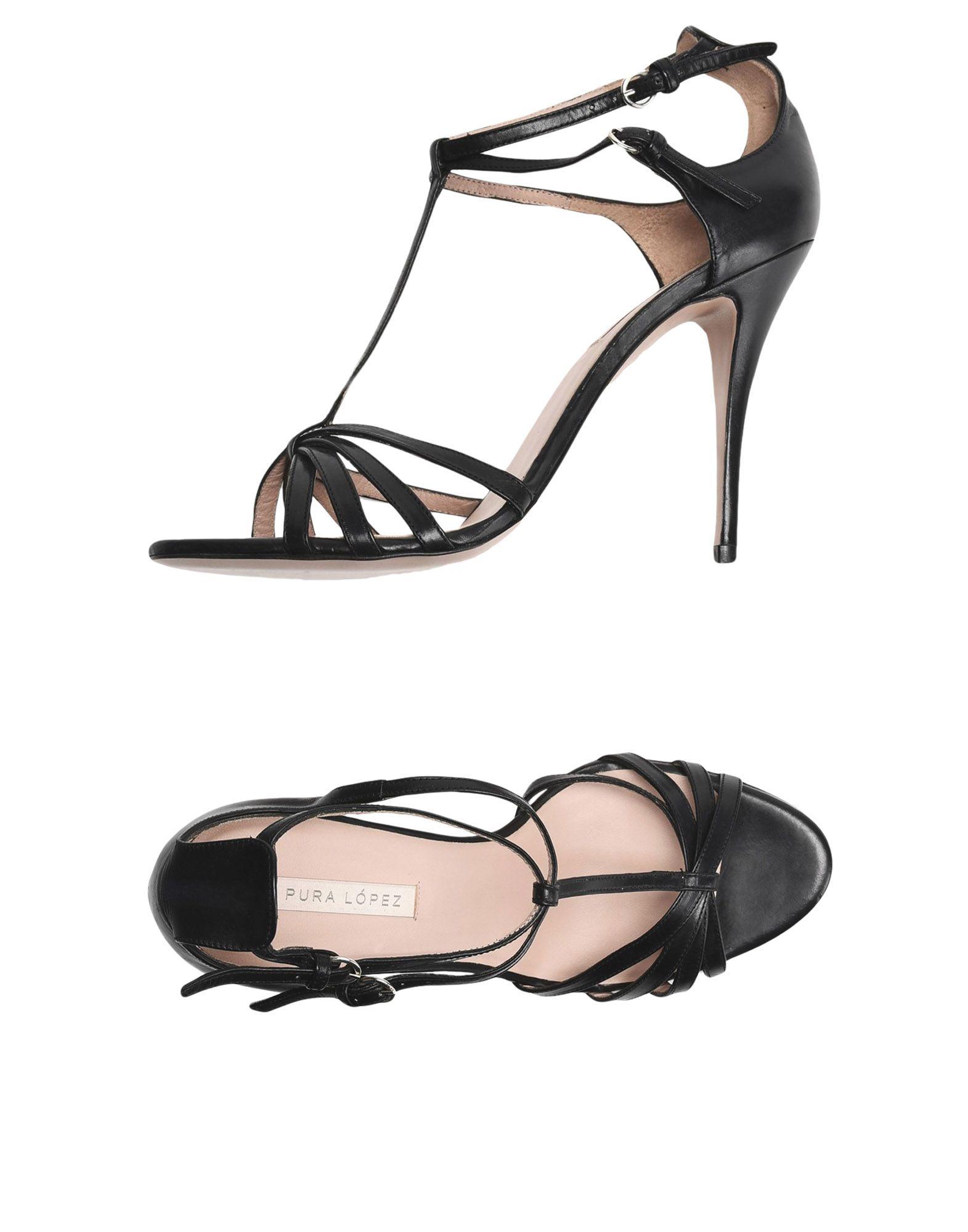 Gut um billige Schuhe Damen zu tragenPura López Sandalen Damen Schuhe  11501153RM bf764b