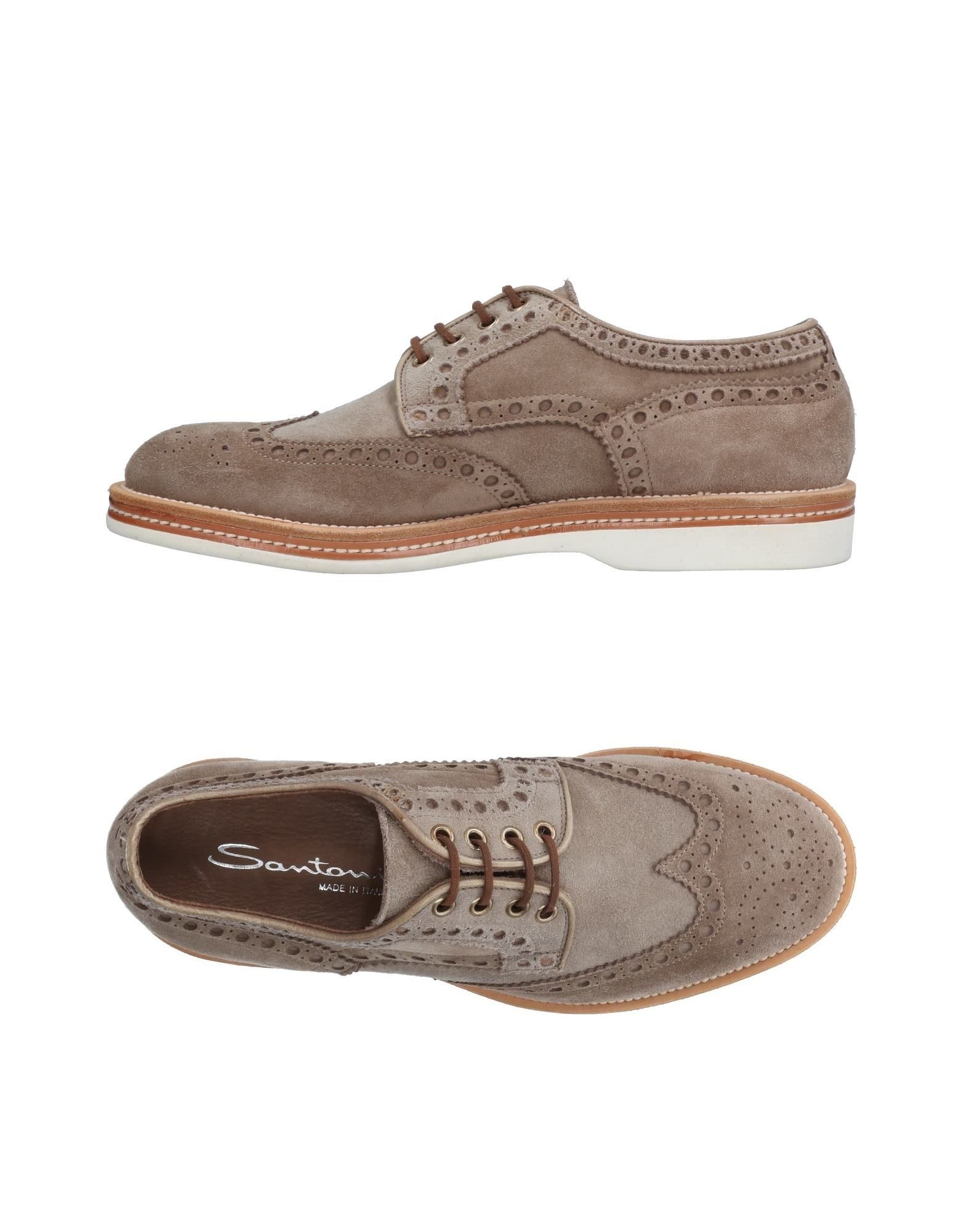 Santoni Schnürschuhe Herren  11501247JQ Heiße Schuhe