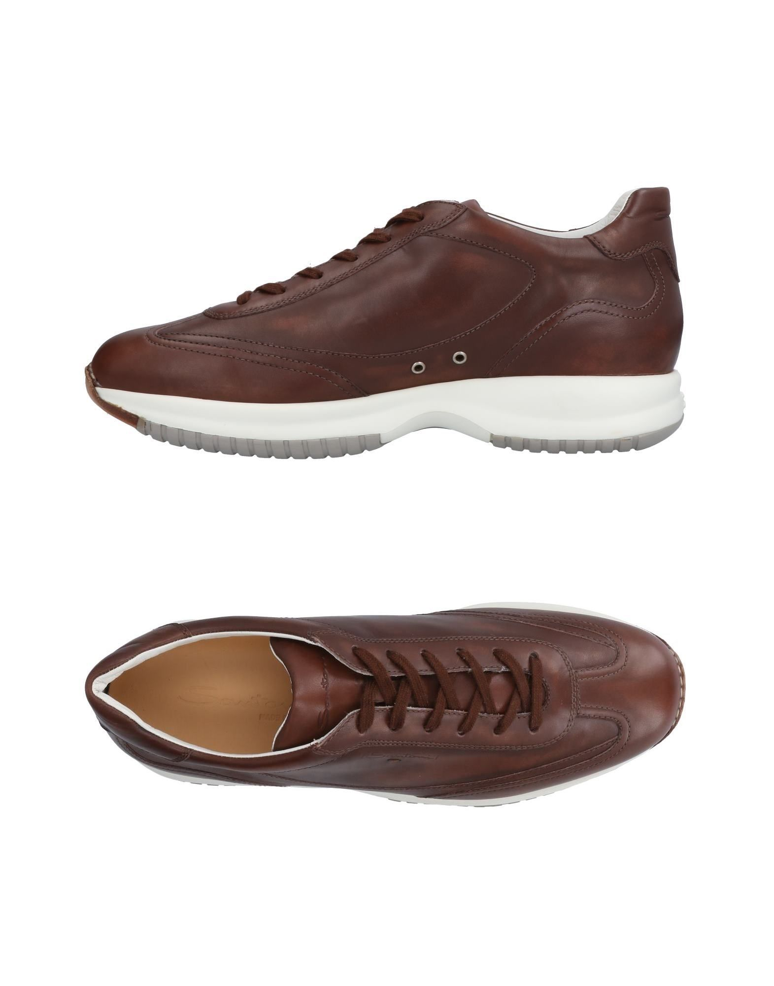 Moda Sneakers Santoni Uomo - 11501293SW