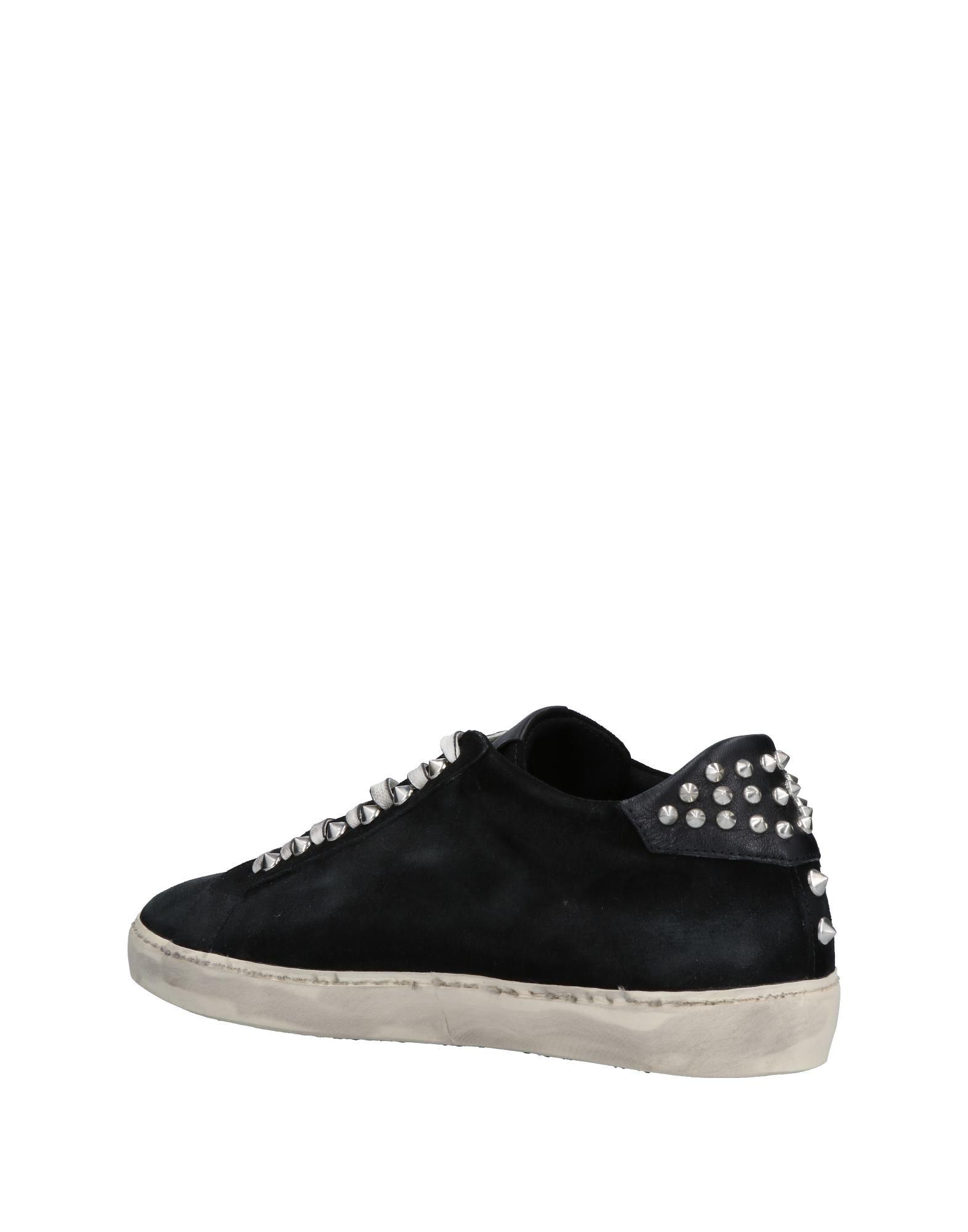 Leather Crown Sneakers Herren  11501379QN