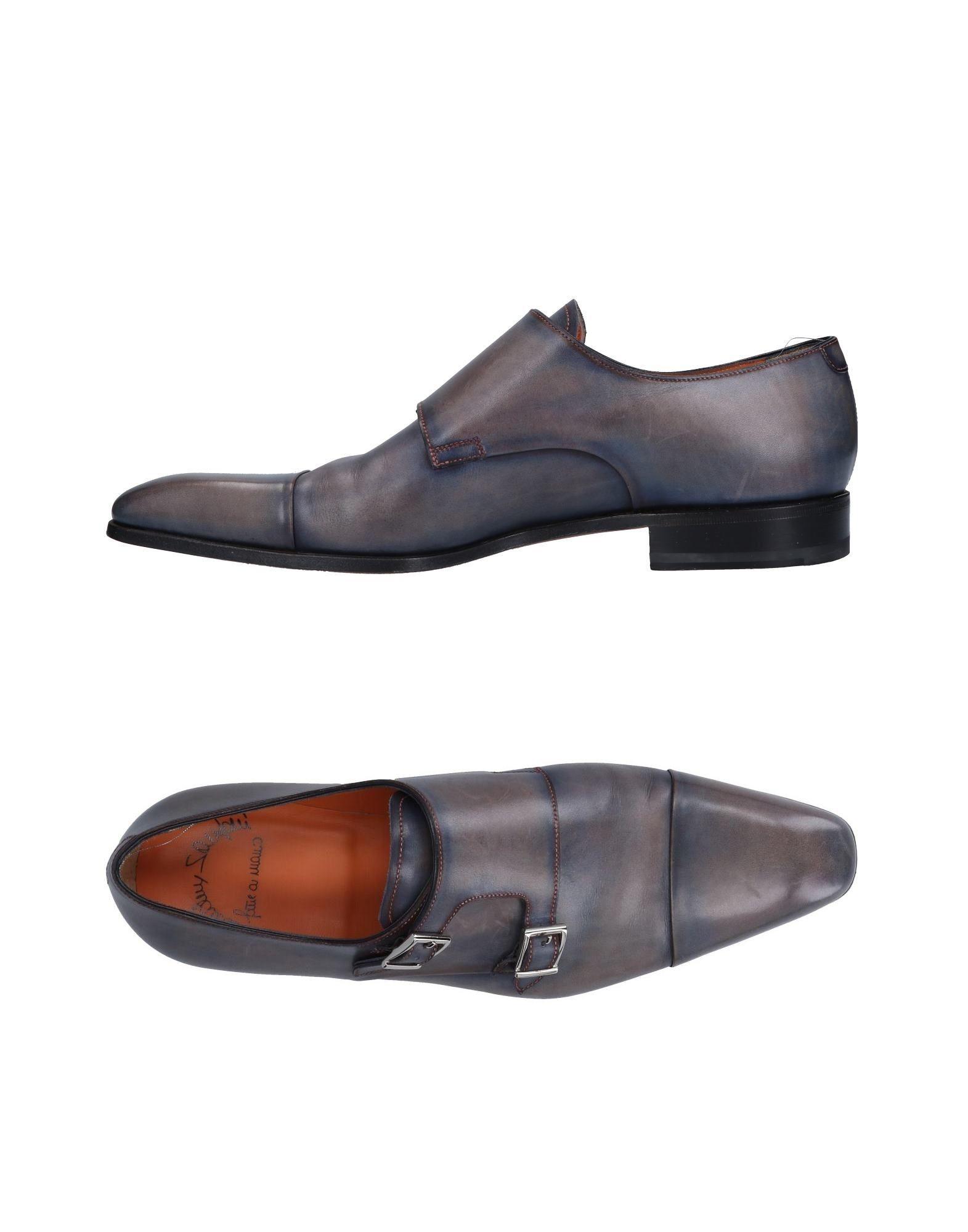 Günstige und modische Schuhe Santoni Mokassins Herren  11501573HM