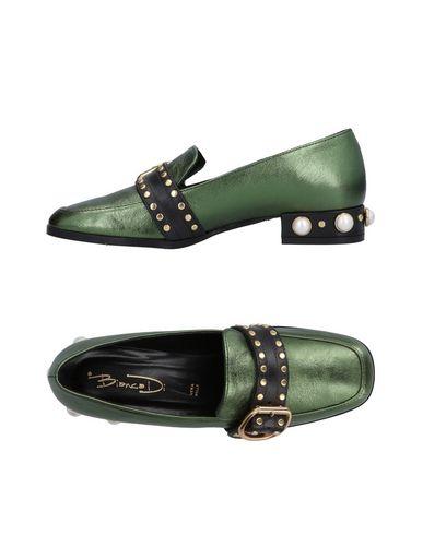 Zapatos casuales salvajes Mocasín Gianna Meliani Mujer - Mocasines Gianna Meliani - 11507203UM Verde oscuro