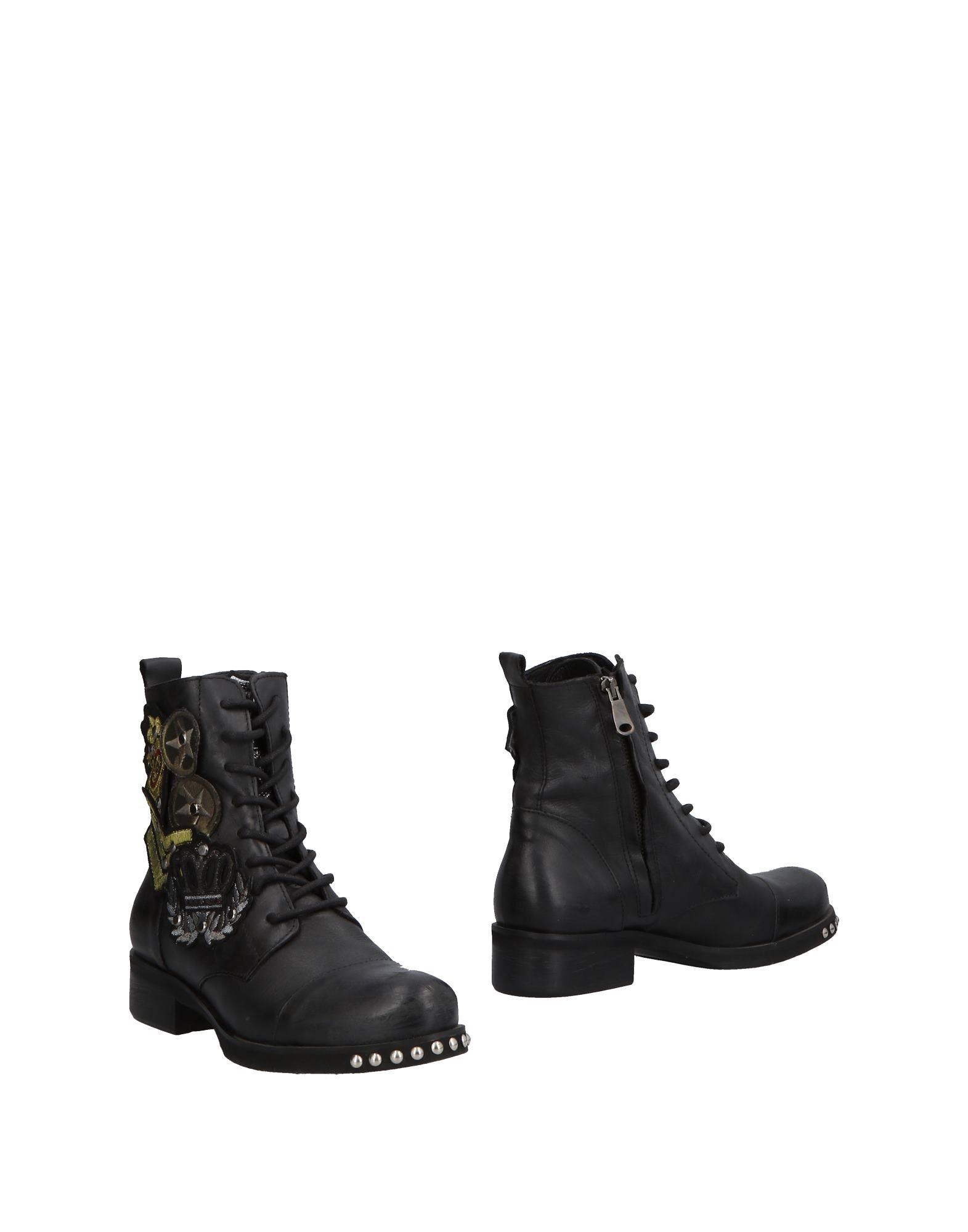 Stilvolle billige Schuhe Police 883 Stiefelette Damen  11501685EA