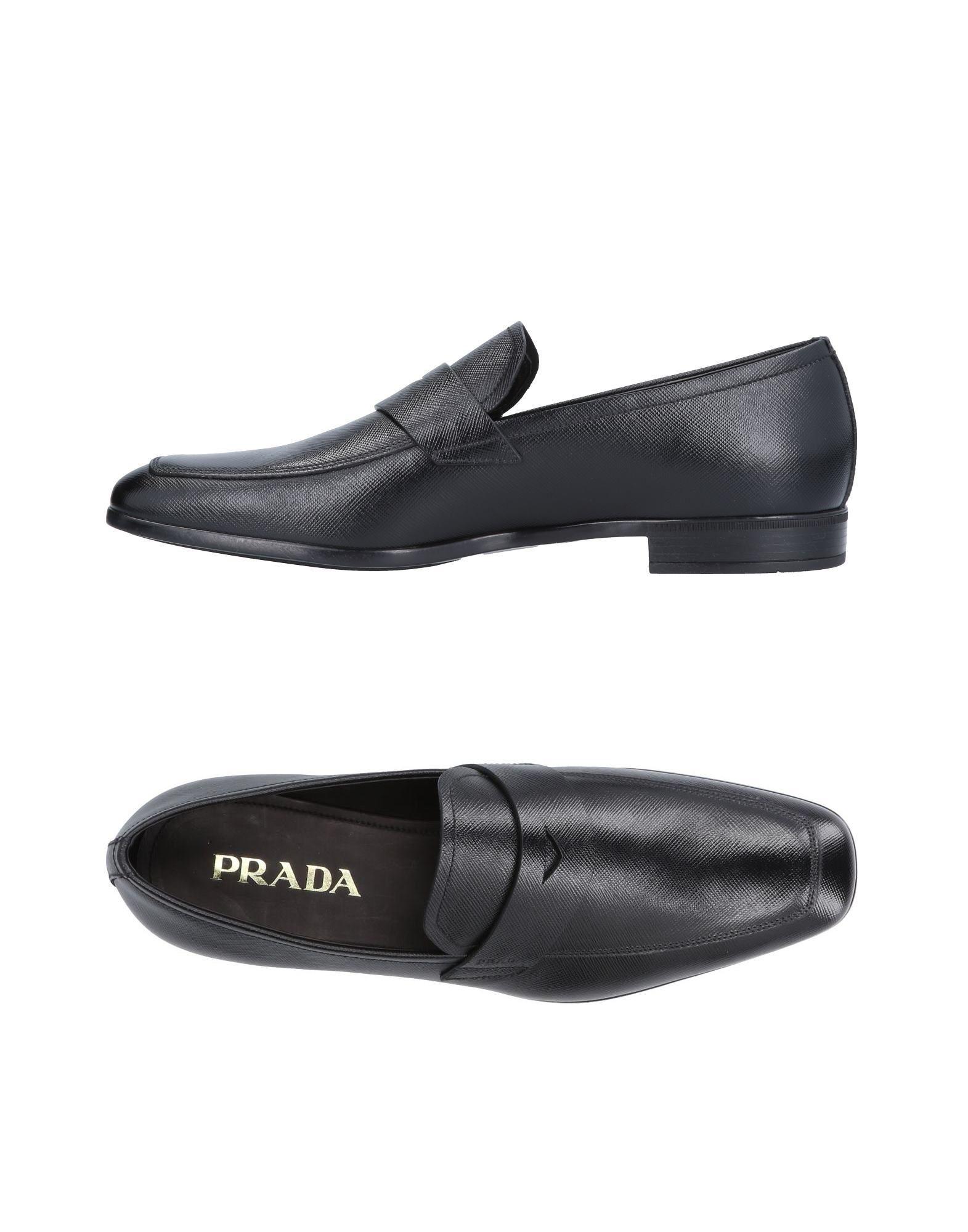 Haltbare Mode billige Schuhe Prada Mokassins Herren  11501922LN Heiße Schuhe