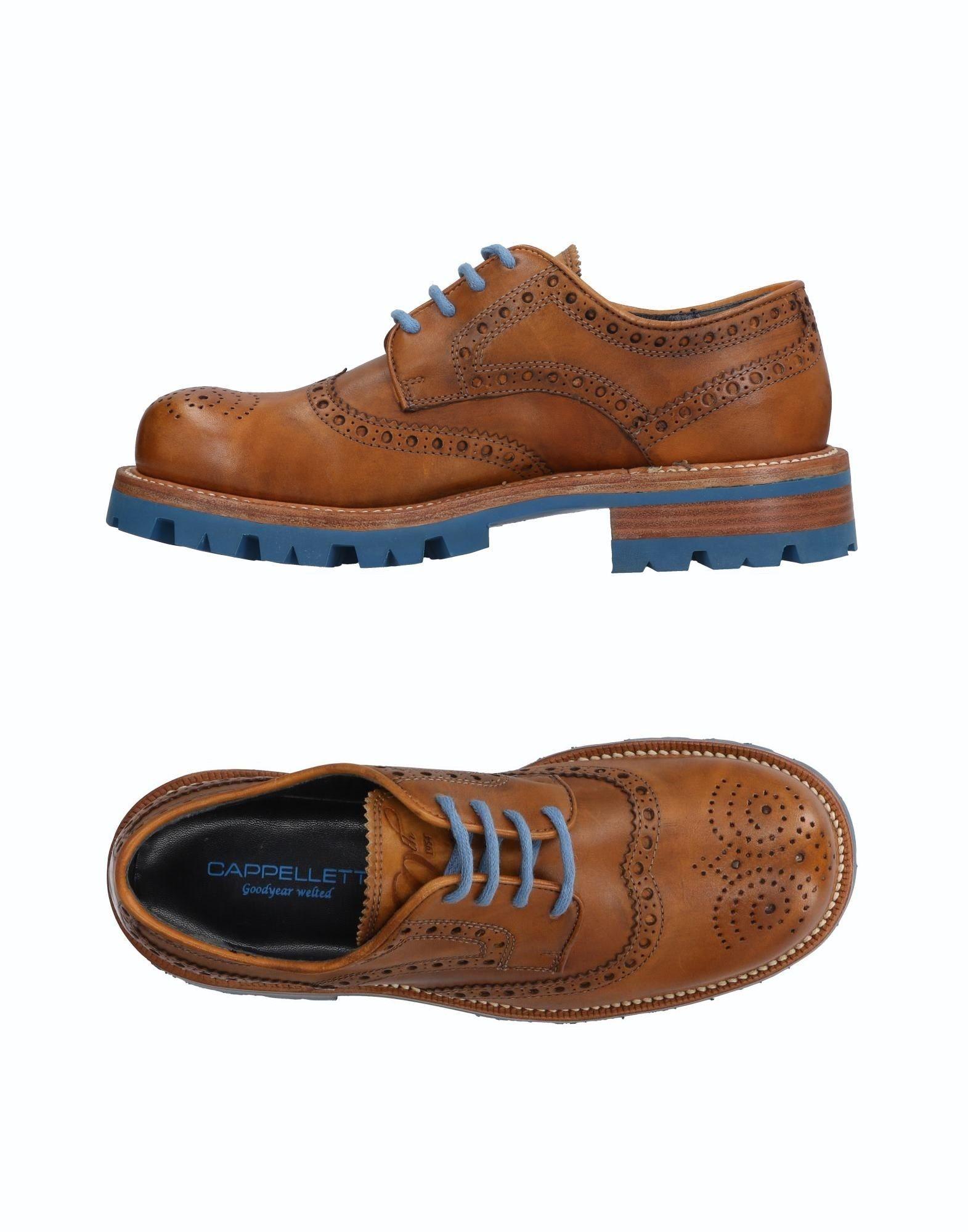 Günstige und modische Schuhe Cappelletti Schnürschuhe Herren  11502103PQ