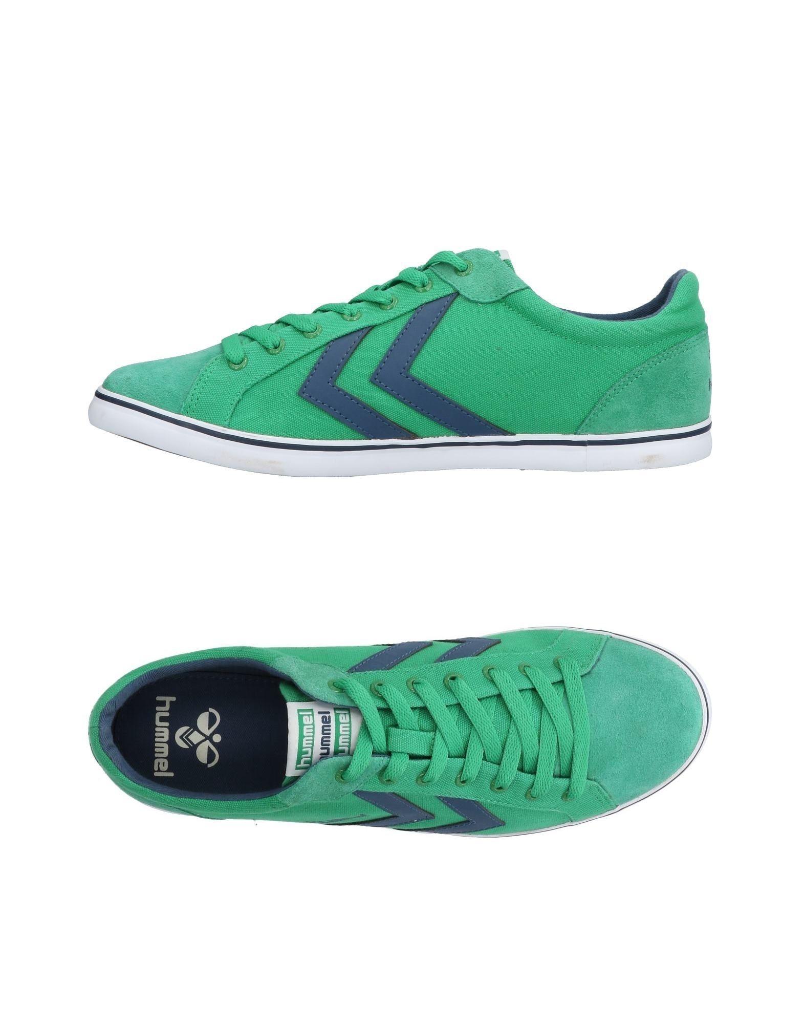 Sneakers Hummel Homme - Sneakers Hummel  Vert Remise de marque