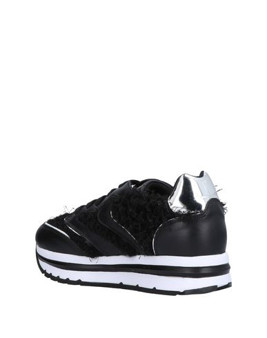 Noir Voile Sneakers Voile Blanche Blanche PzFI7P