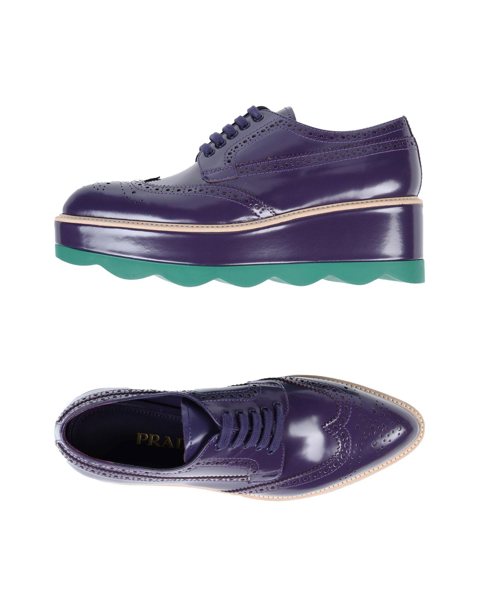 Prada aussehende Schnürschuhe Damen 11502422ISGünstige gut aussehende Prada Schuhe 820318