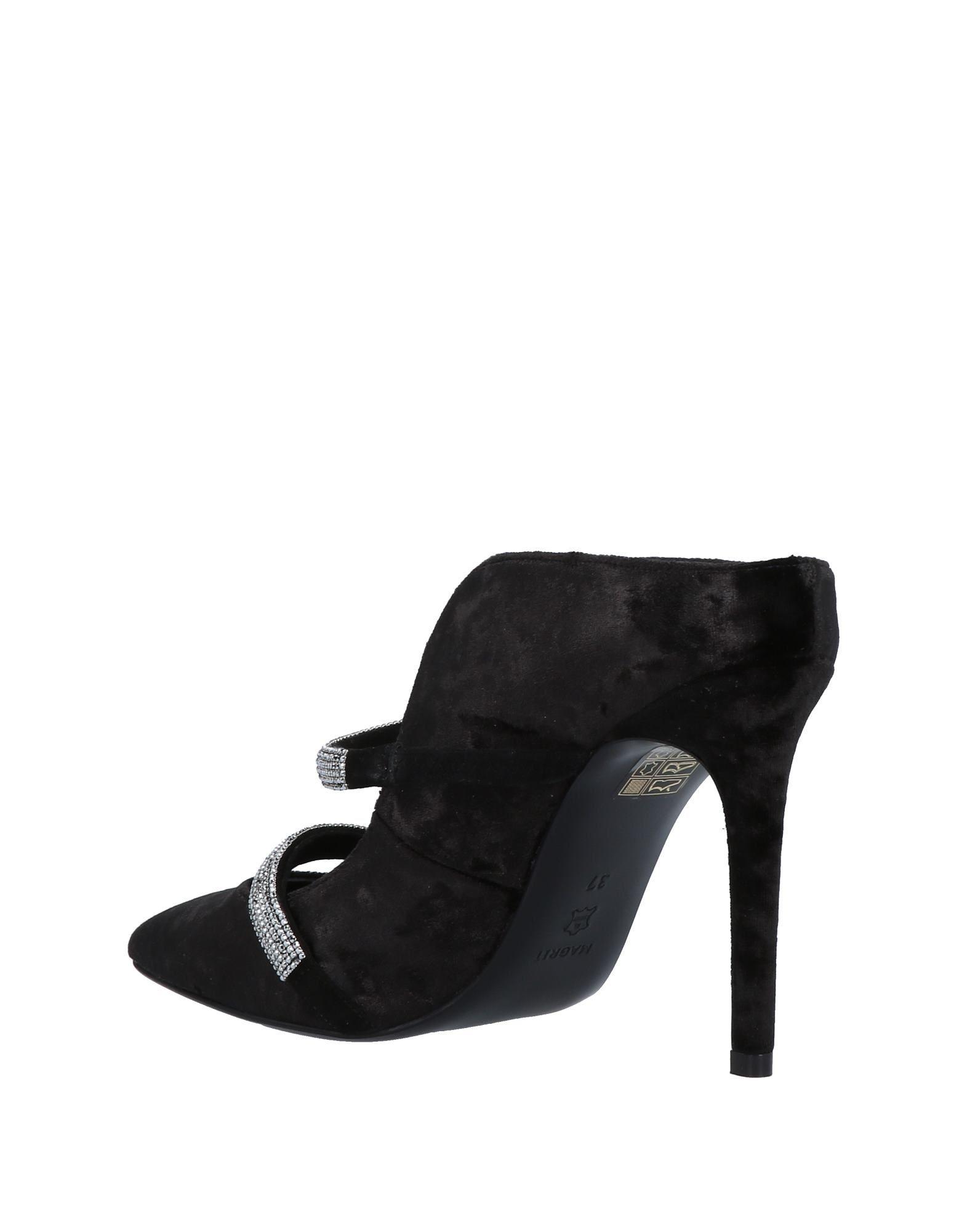 Stilvolle Magrit billige Schuhe Magrit Stilvolle Pantoletten Damen  11502476LE 25534a