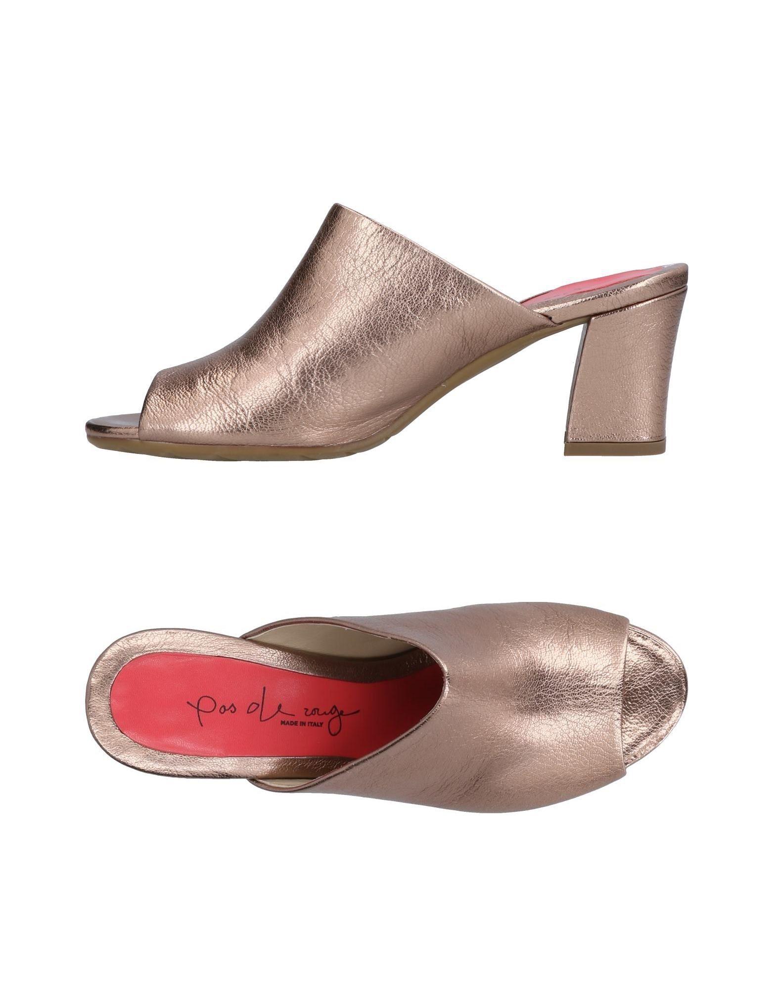 Pas De Rouge Sandalen Damen  11502875TO Neue Schuhe