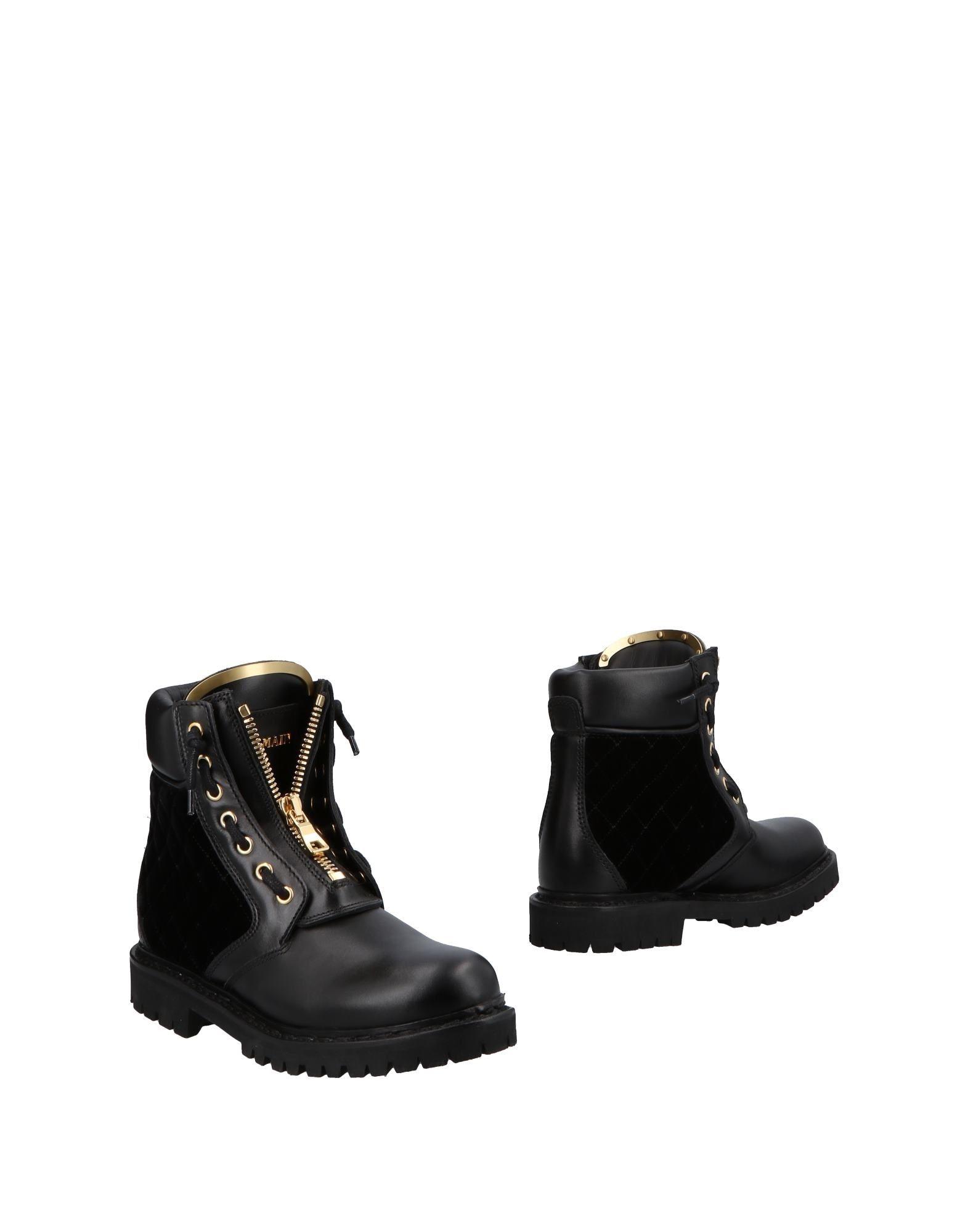 Balmain Stiefelette Damen  11503238GXGünstige gut aussehende Schuhe