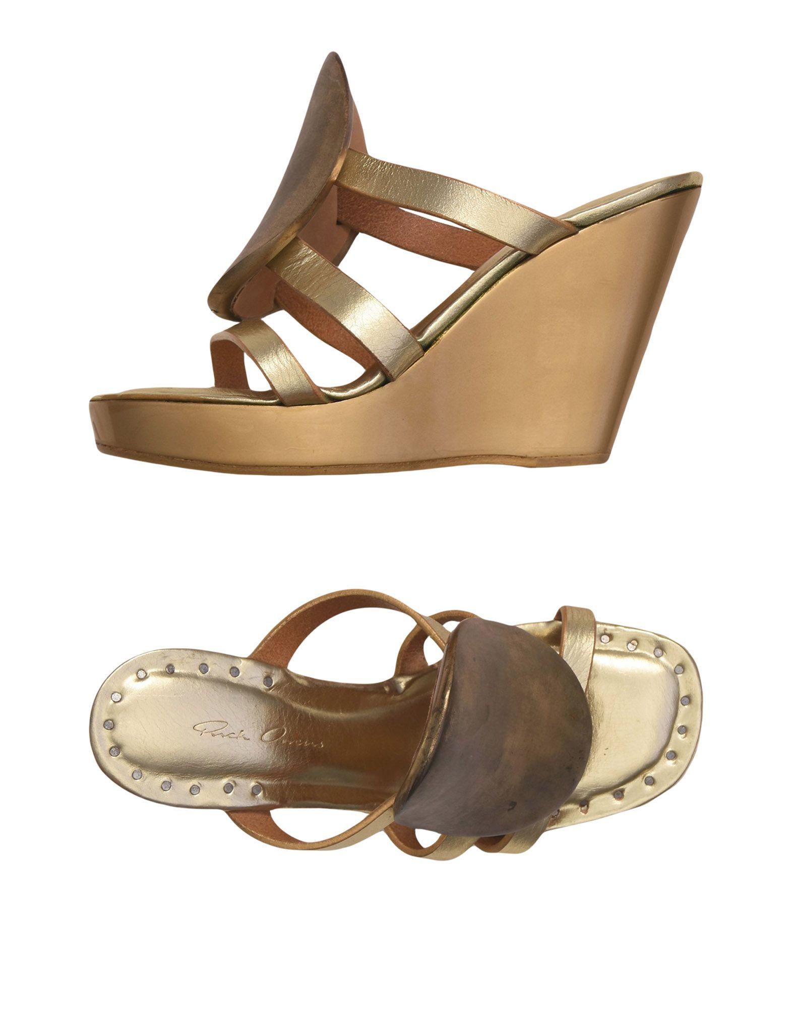 Rick Owens Sandalen aussehende Damen  11503316ROGünstige gut aussehende Sandalen Schuhe 3fa60d