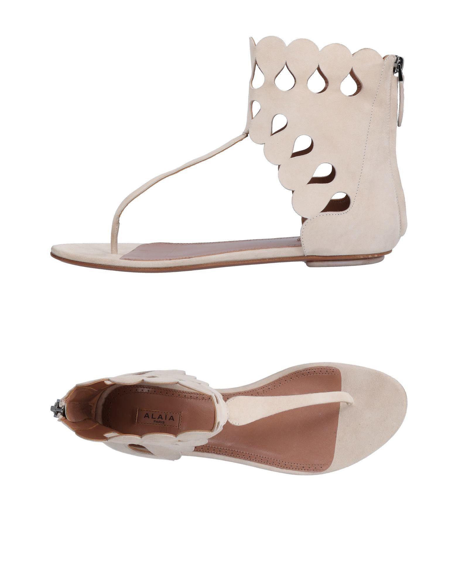 Alaïa Alaïa Flip Flops - Women Alaïa Alaïa Flip Flops online on  United Kingdom - 11503425JT 95dd3c