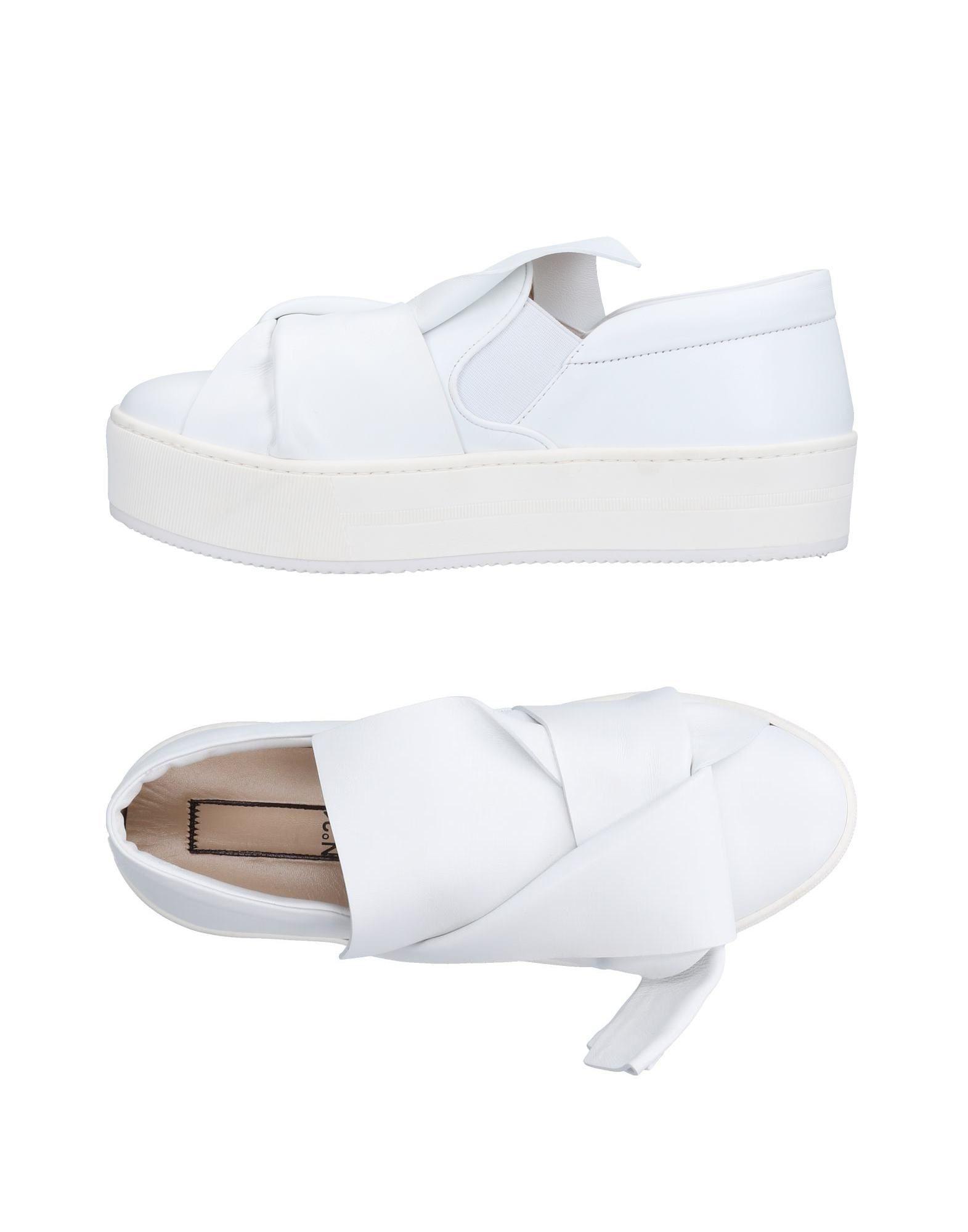 Rabatt Schuhe N° 21 Sneakers Damen  11503462HM