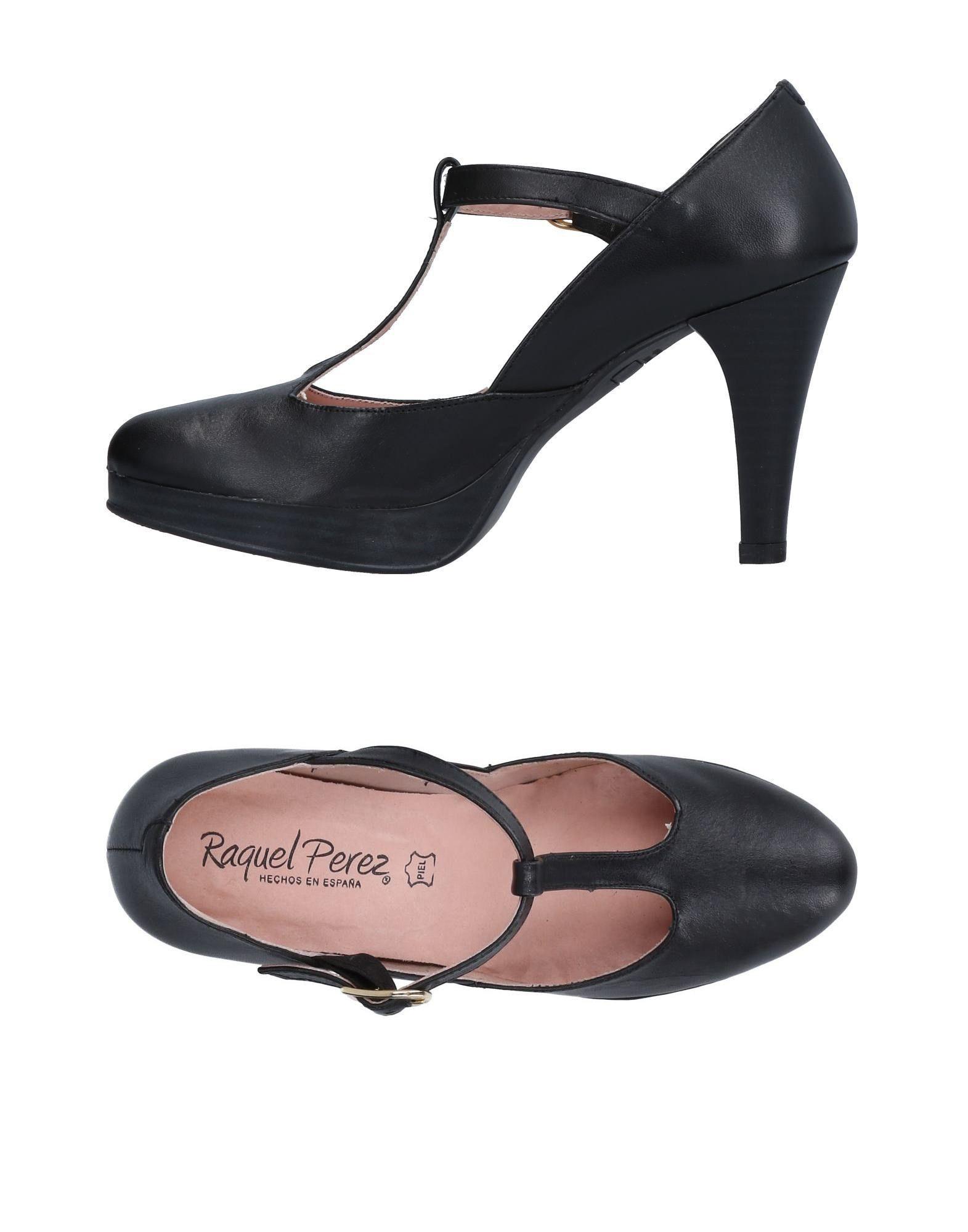 Nuevos zapatos para hombres tiempo y mujeres, descuento por tiempo hombres limitado Zapato De Salón Raquel Perez® Mujer - Salones Raquel Perez®  Negro 3ab18c