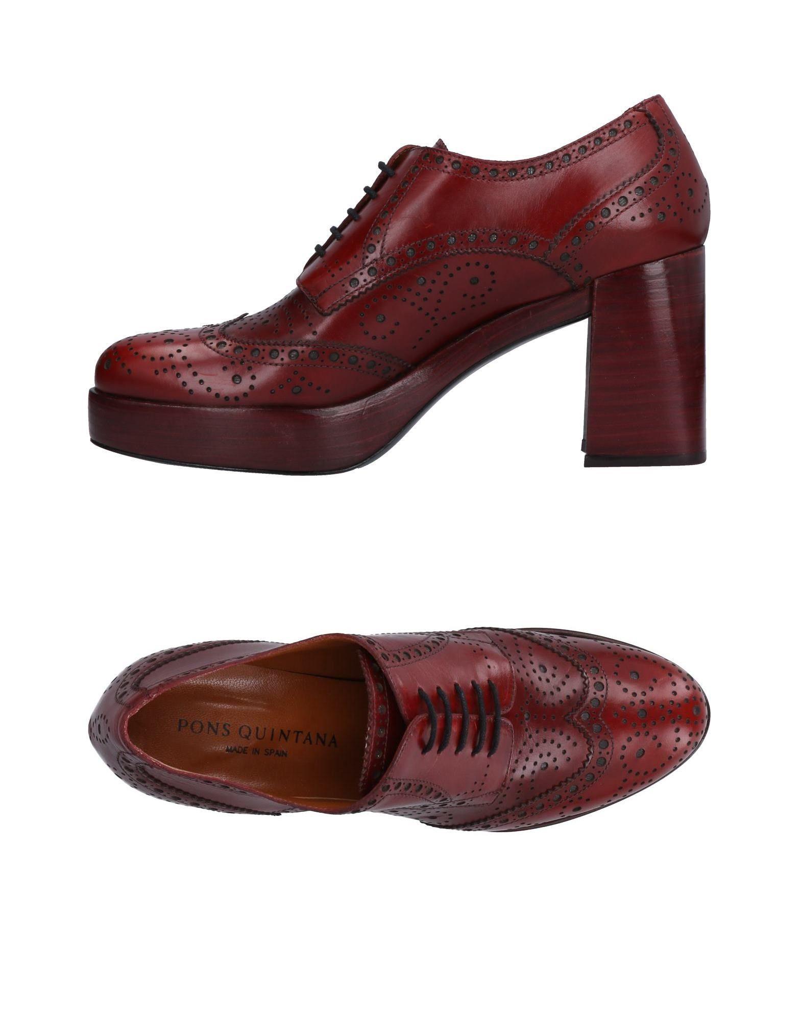 Pons Quintana Schnürschuhe Damen  11503704IP Gute Qualität beliebte Schuhe