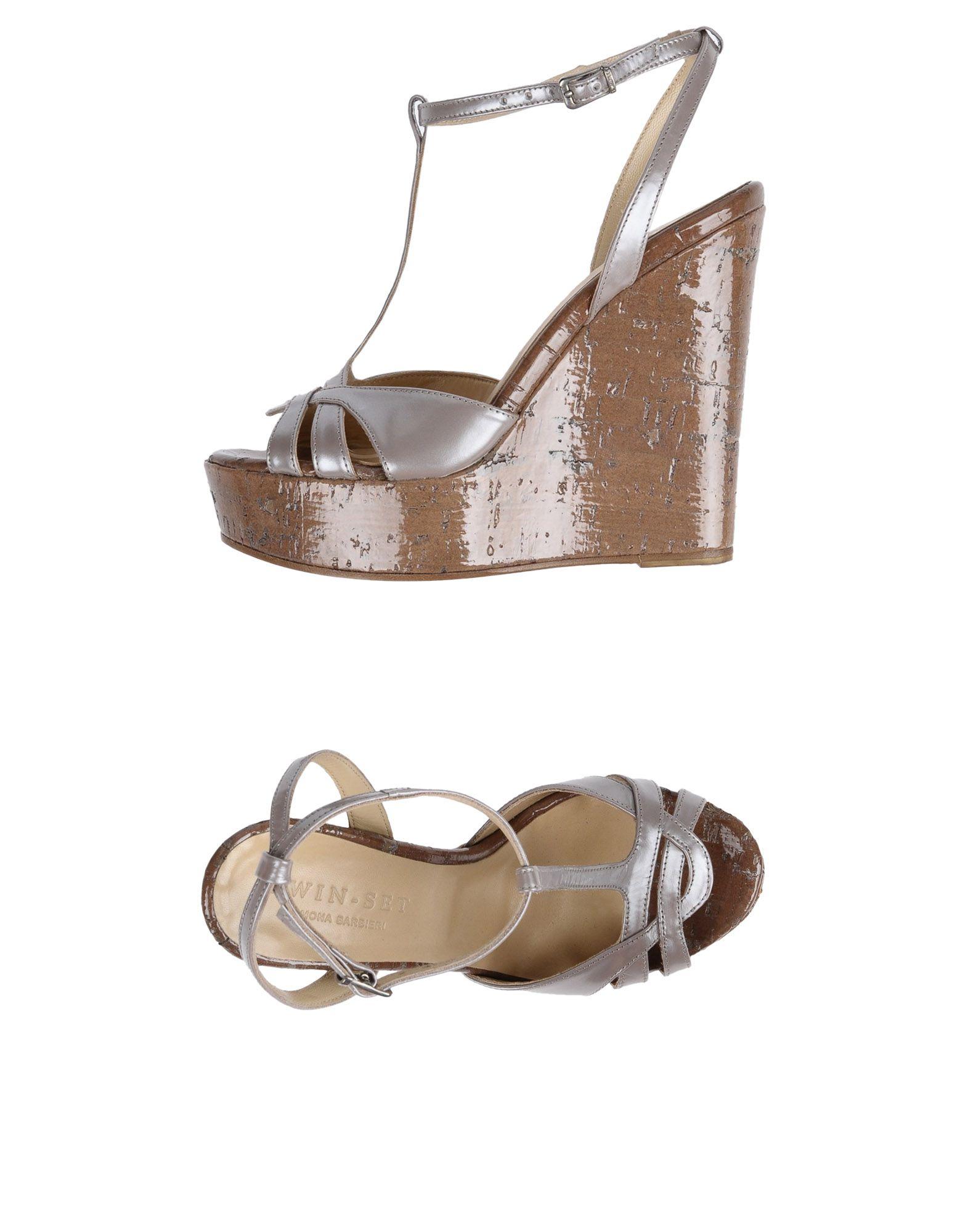 Twin-Set Simona Barbieri Sandals - Women Twin-Set Simona Simona Simona Barbieri Sandals online on  Canada - 11503958GW 8b09fa