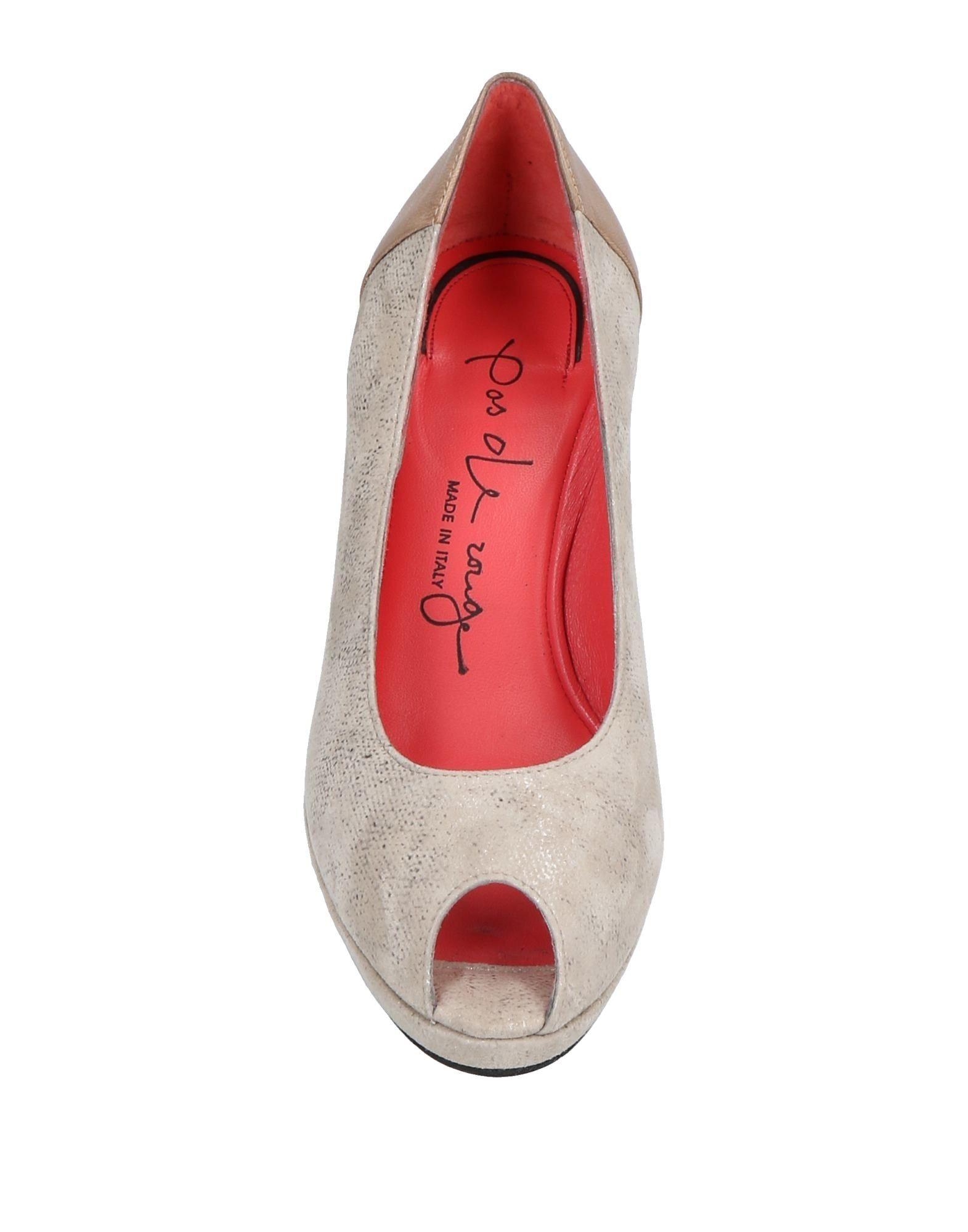 Pas De Schuhe Rouge Pumps Damen  11503984PJ Neue Schuhe De 076912