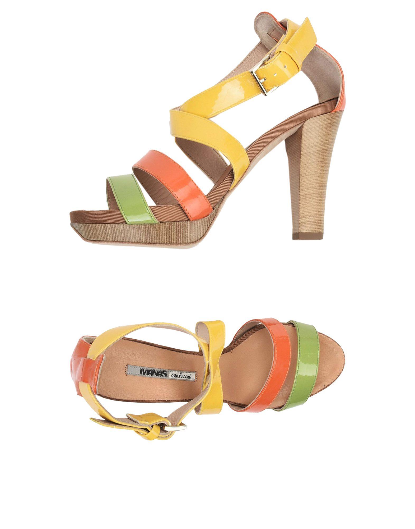 Manas  Lea Foscati Sandalen Damen  Manas 11504031VG Neue Schuhe 440ae4