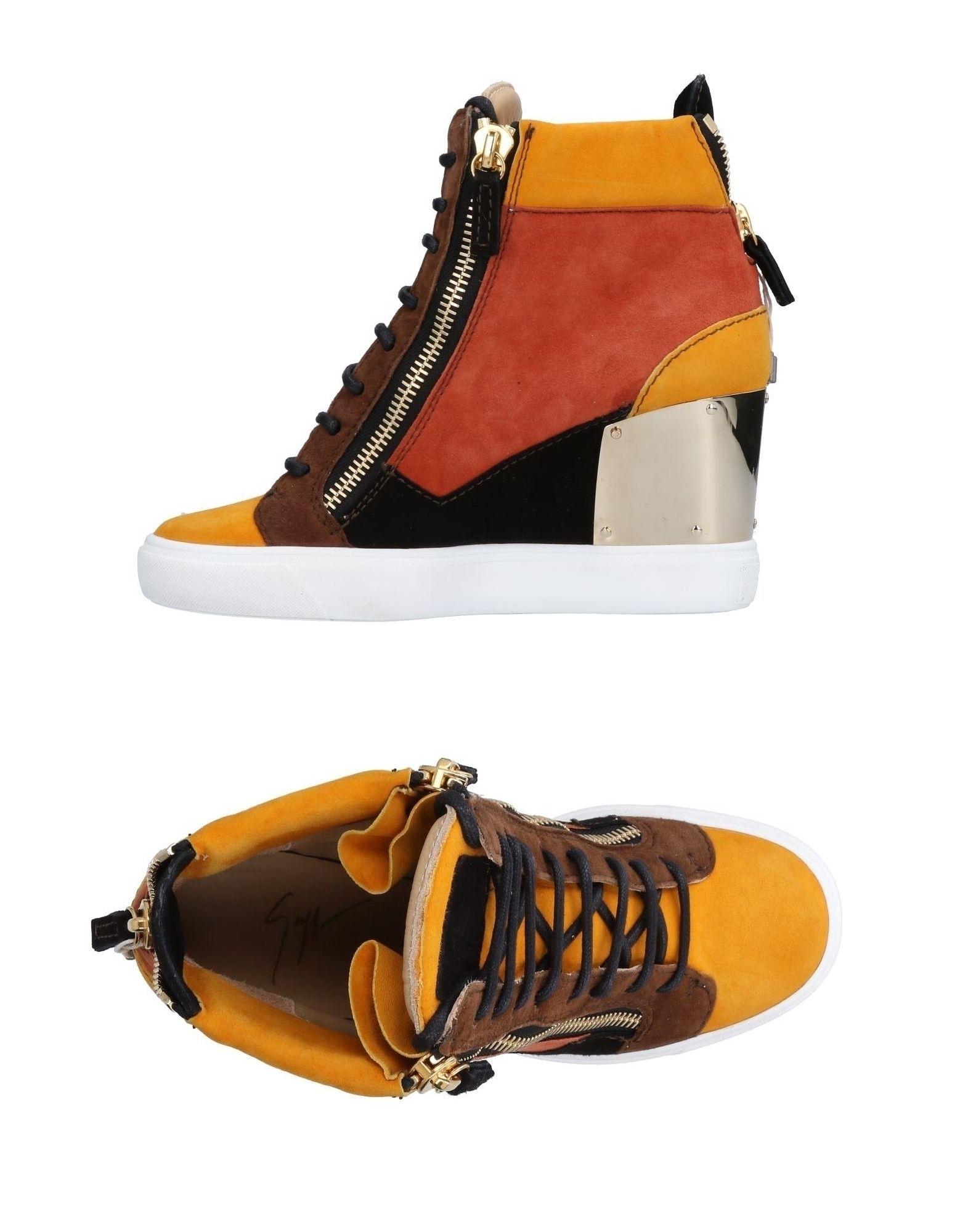 Giuseppe Zanotti aussehende Turnschuhes Damen 11504072OGGünstige gut aussehende Zanotti Schuhe b3f564