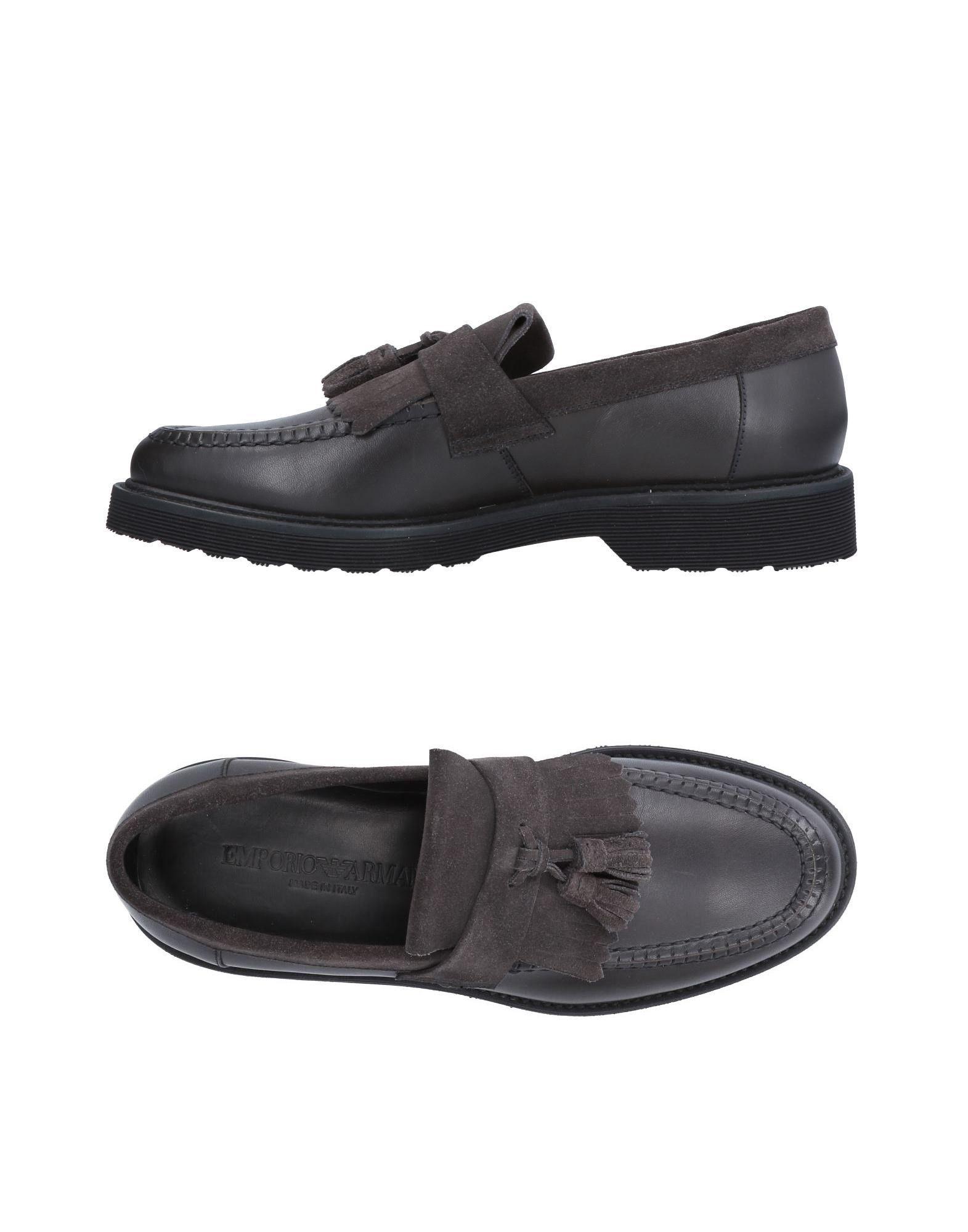 Emporio Armani Mokassins Herren  11504219MO Gute Qualität beliebte Schuhe