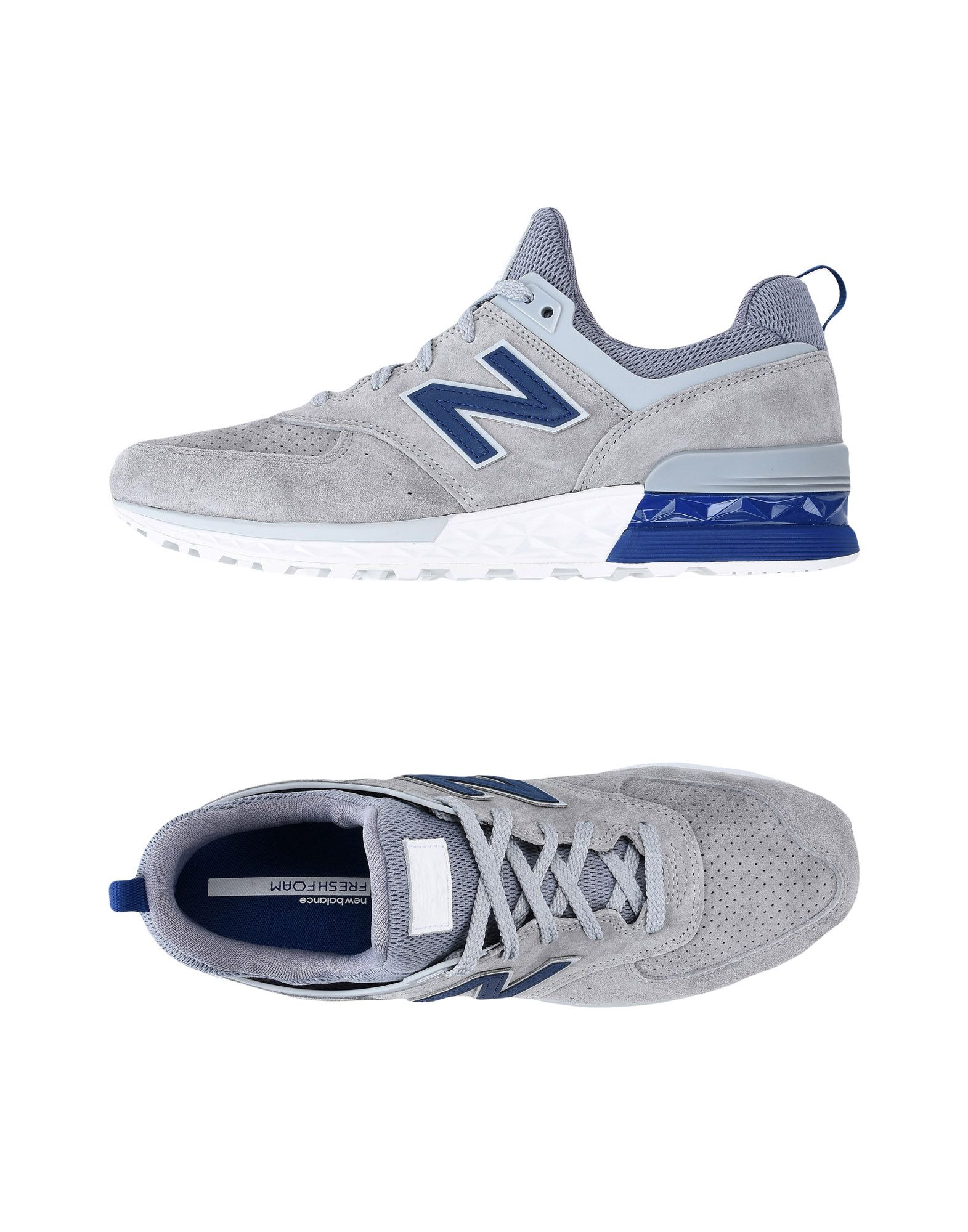Sneakers New Balance 574 Sport Suede Perf - Uomo - 11504273DK