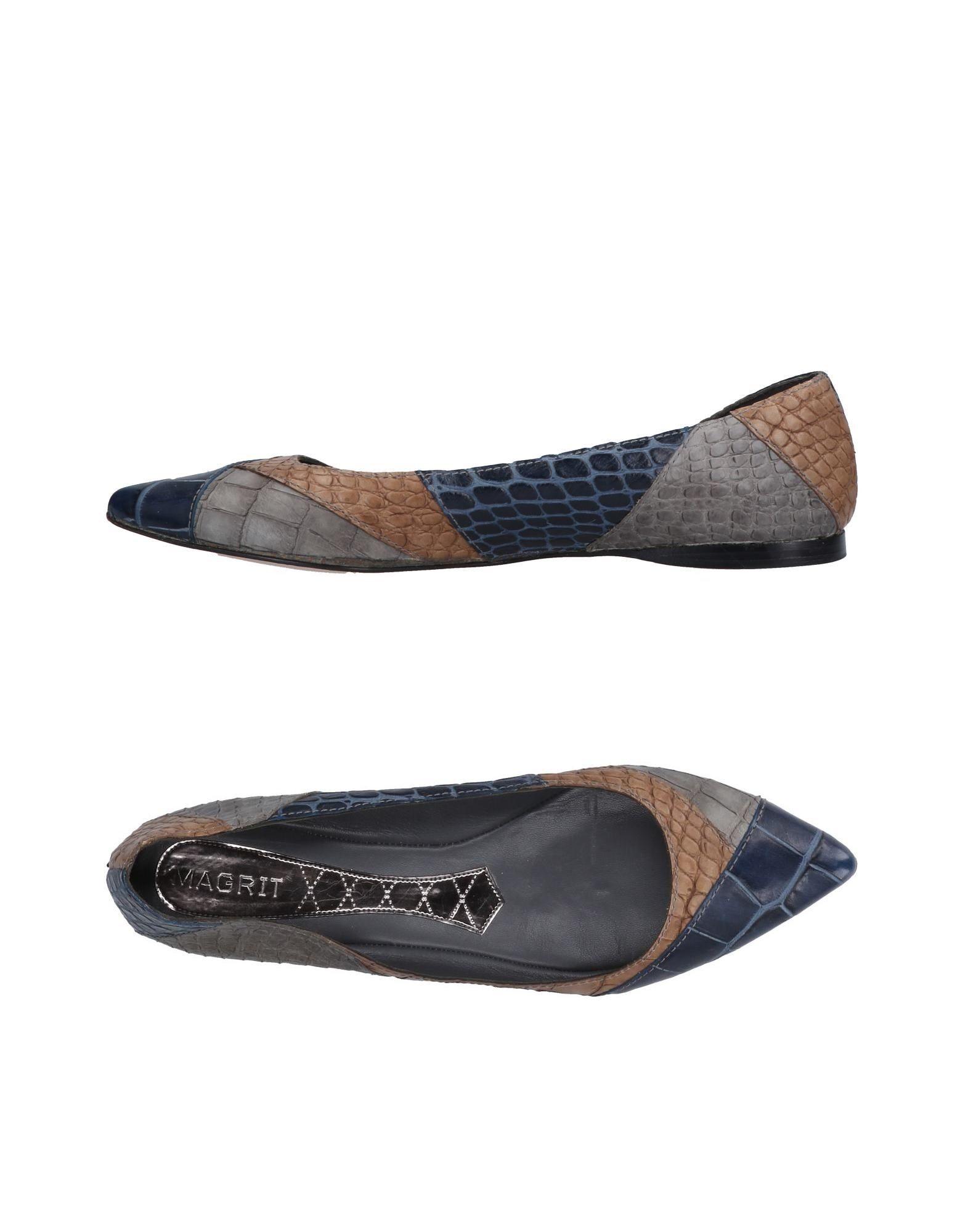 Stilvolle billige Schuhe Magrit Ballerinas Damen  11504455RI