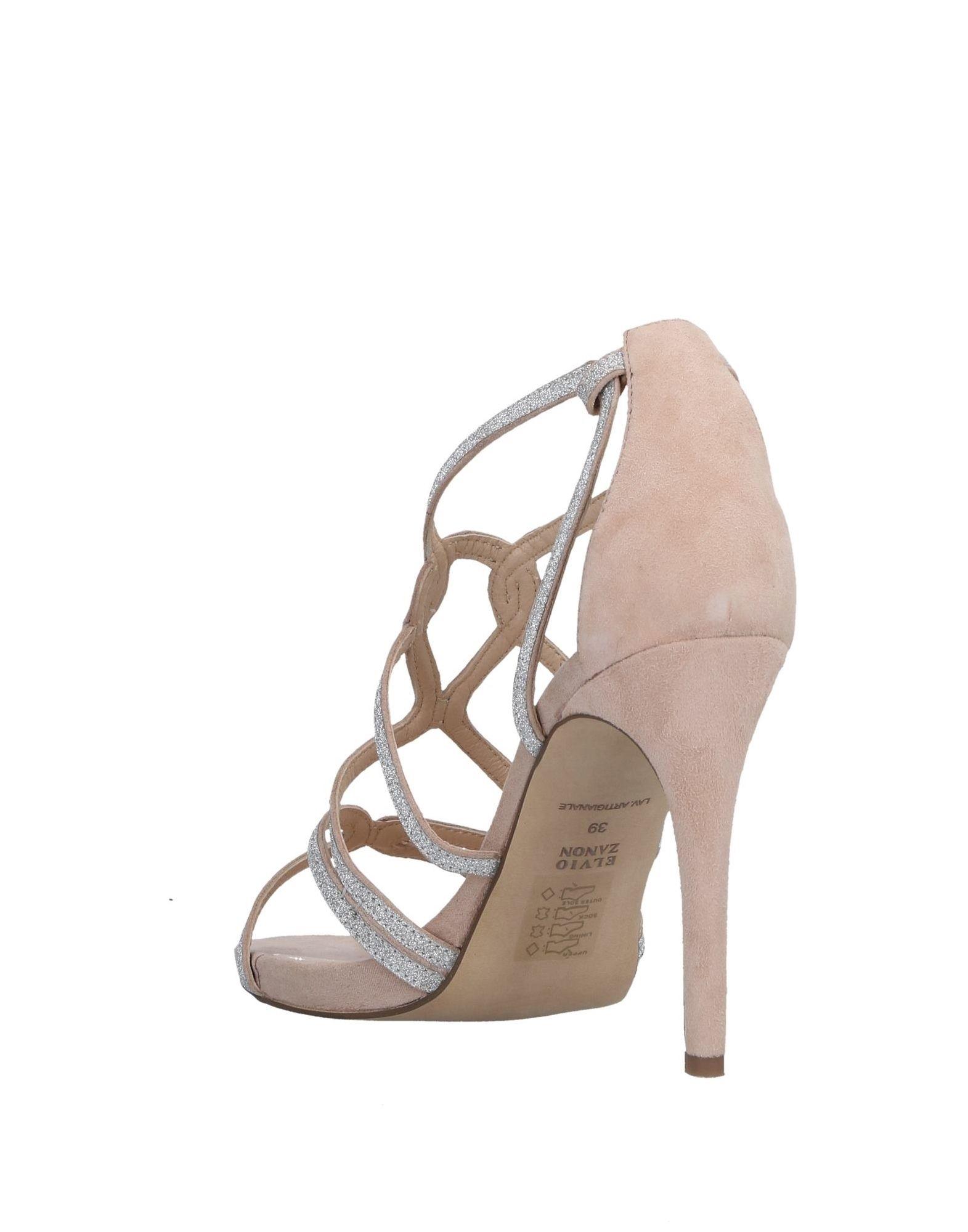 Elvio Zanon Sandalen Damen beliebte  11504725BK Gute Qualität beliebte Damen Schuhe a165e0