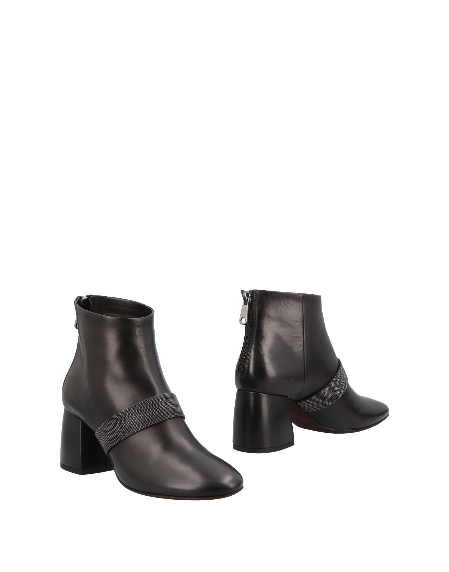 Bottine Brunello Cucinelli Femme - Bottines Brunello Cucinelli Noir Dernières chaussures discount pour hommes et femmes