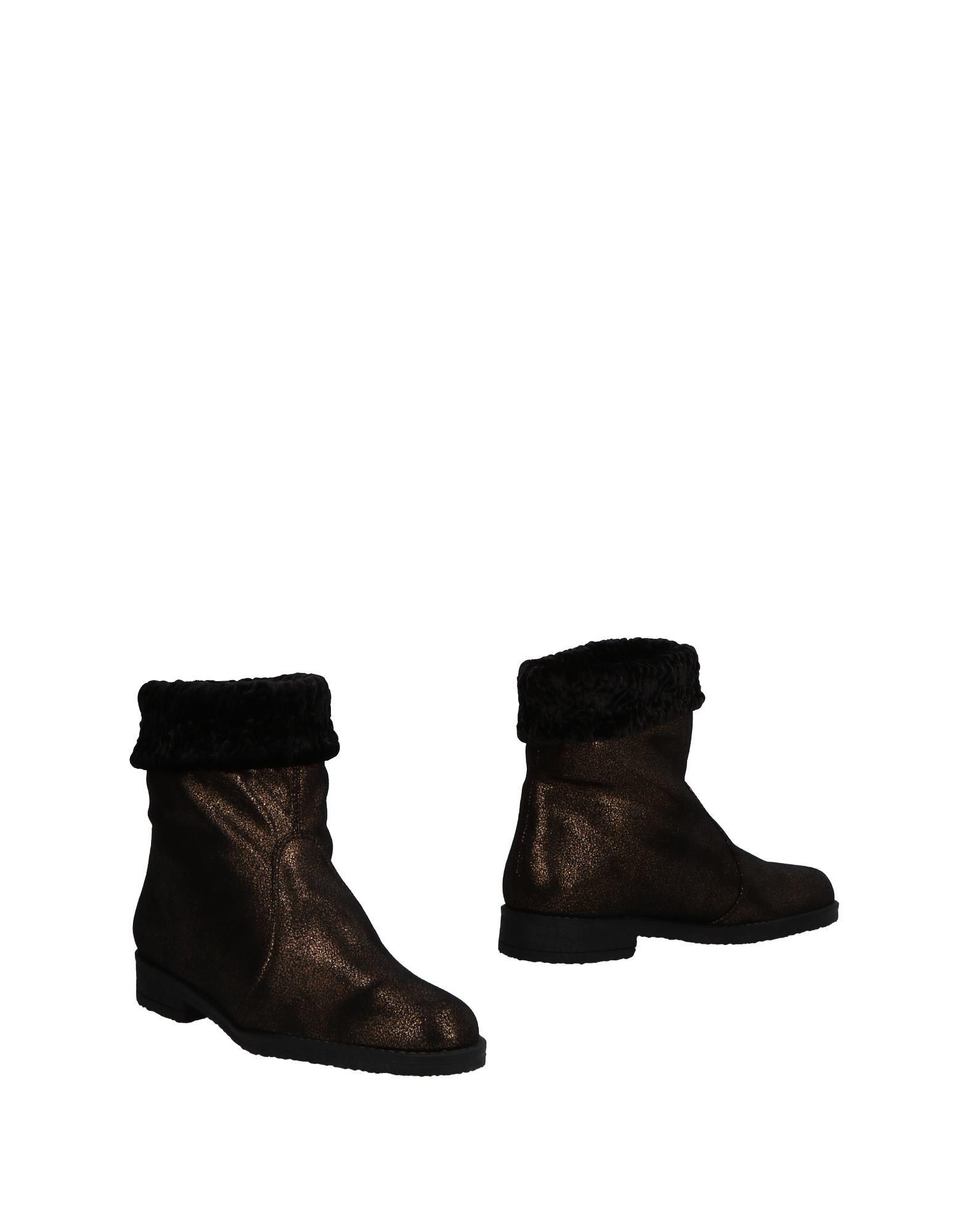 Bottine Nr Rapisardi Femme - Bottines Nr Rapisardi Bronze Chaussures casual sauvages