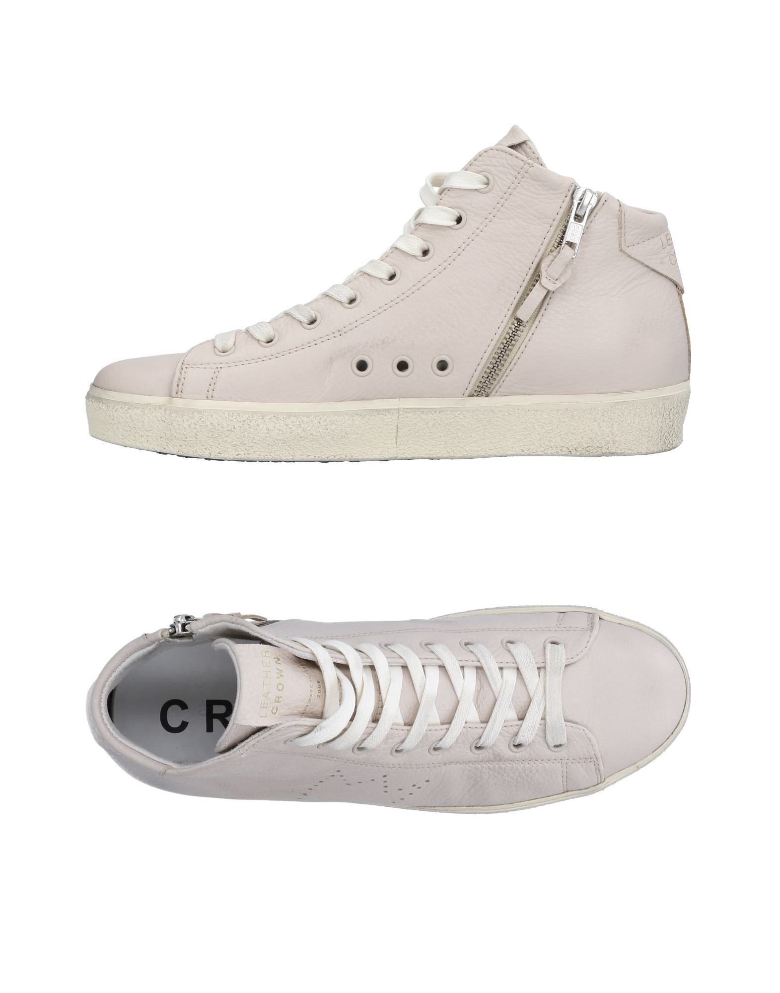 Sneakers Leather Crown Donna - 11504989BL 11504989BL - 0931a9