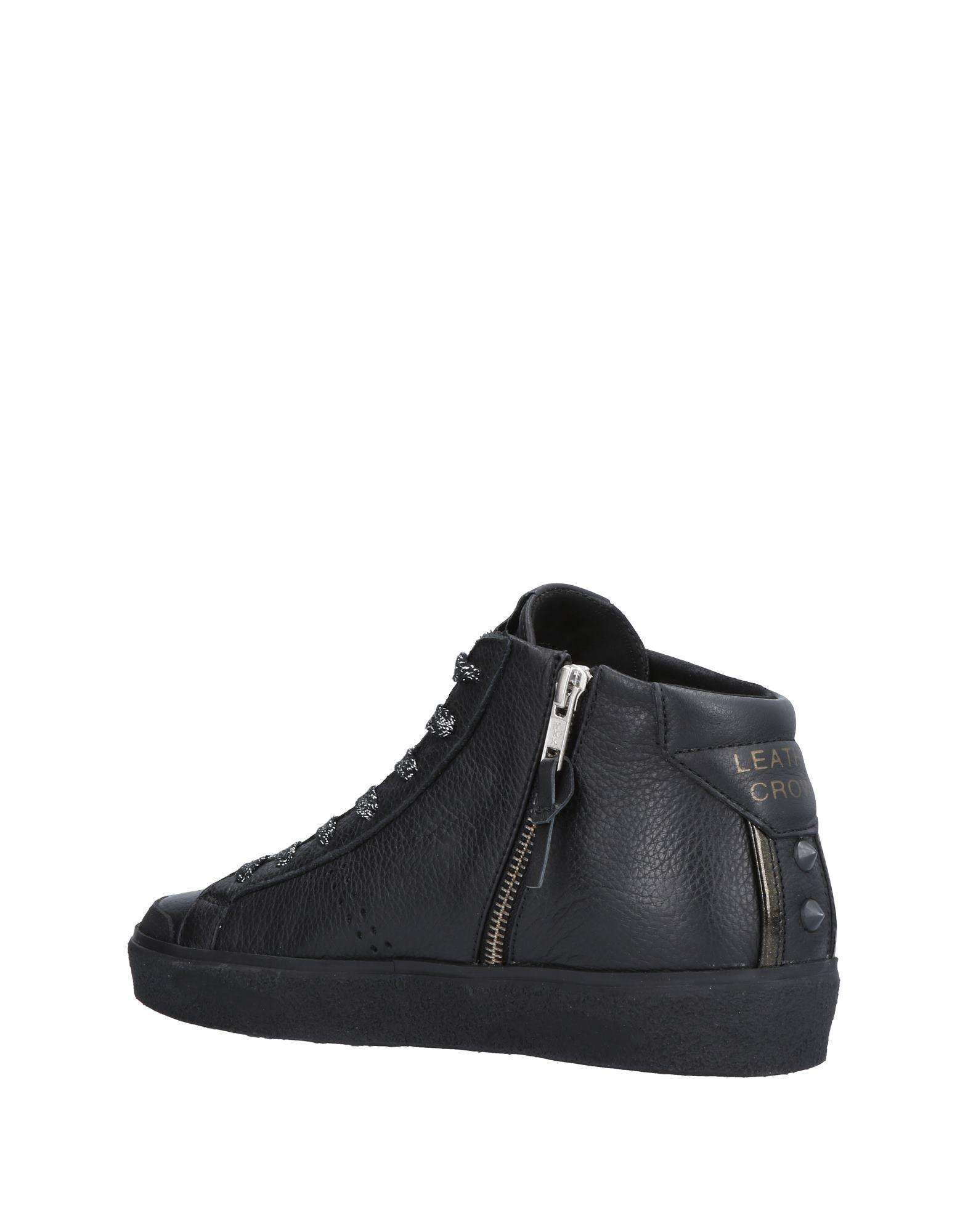 Leather Crown Sneakers Damen  11505016UTGut aussehende strapazierfähige Schuhe