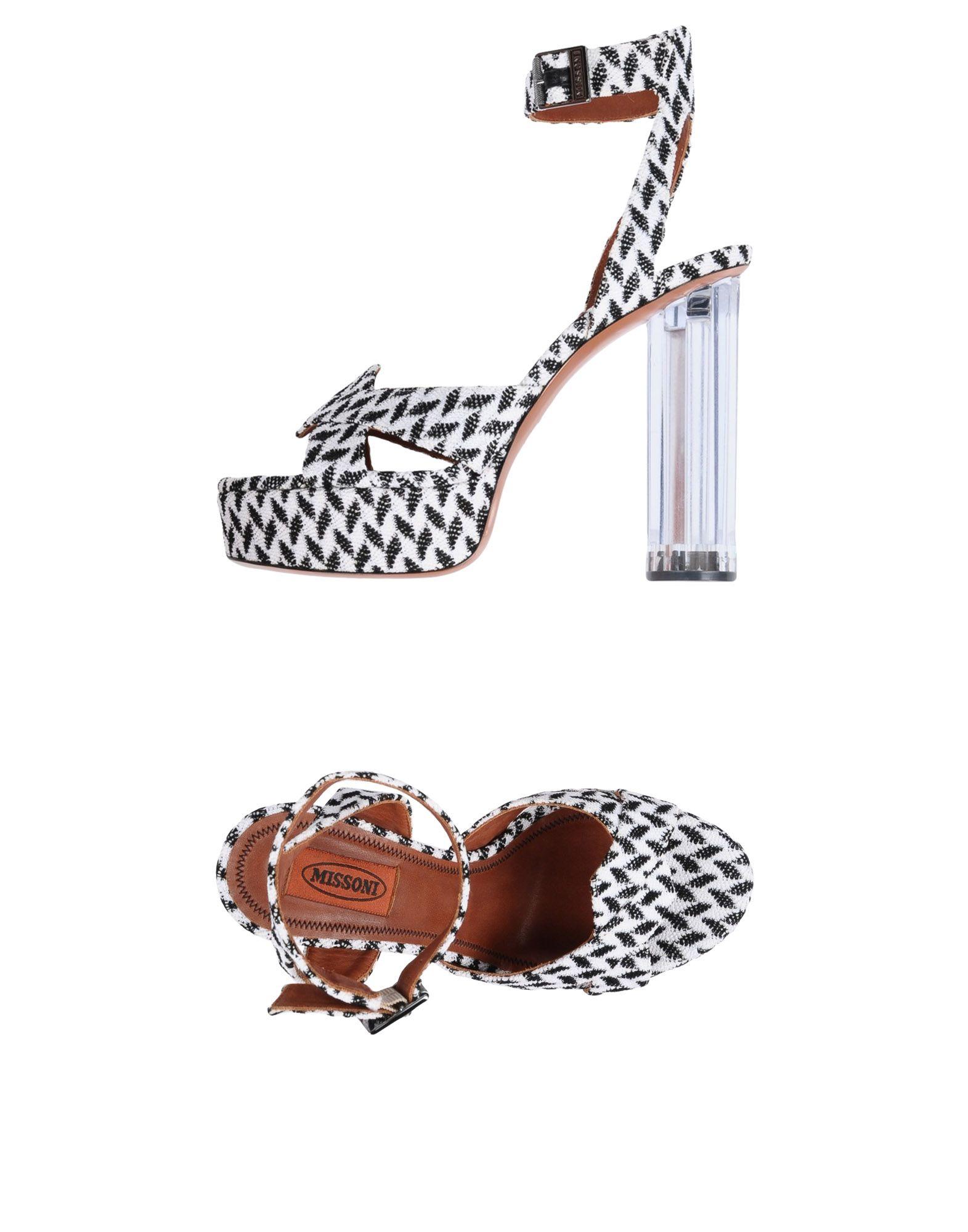 Stilvolle billige  Schuhe Missoni Sandalen Damen  billige 11505142TR 168620