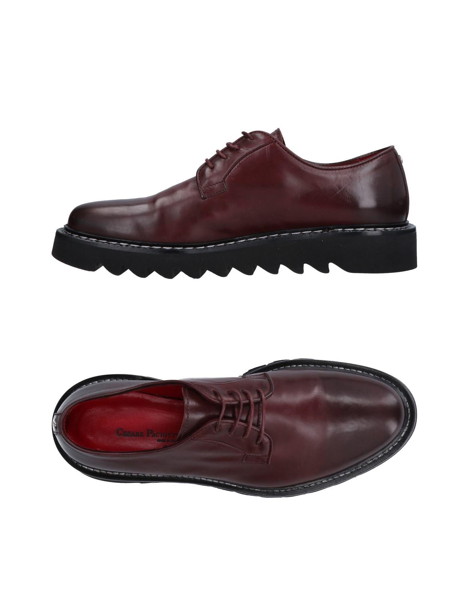Stilvolle billige Schuhe Cesare Paciotti Schnürschuhe Damen  11505156HJ