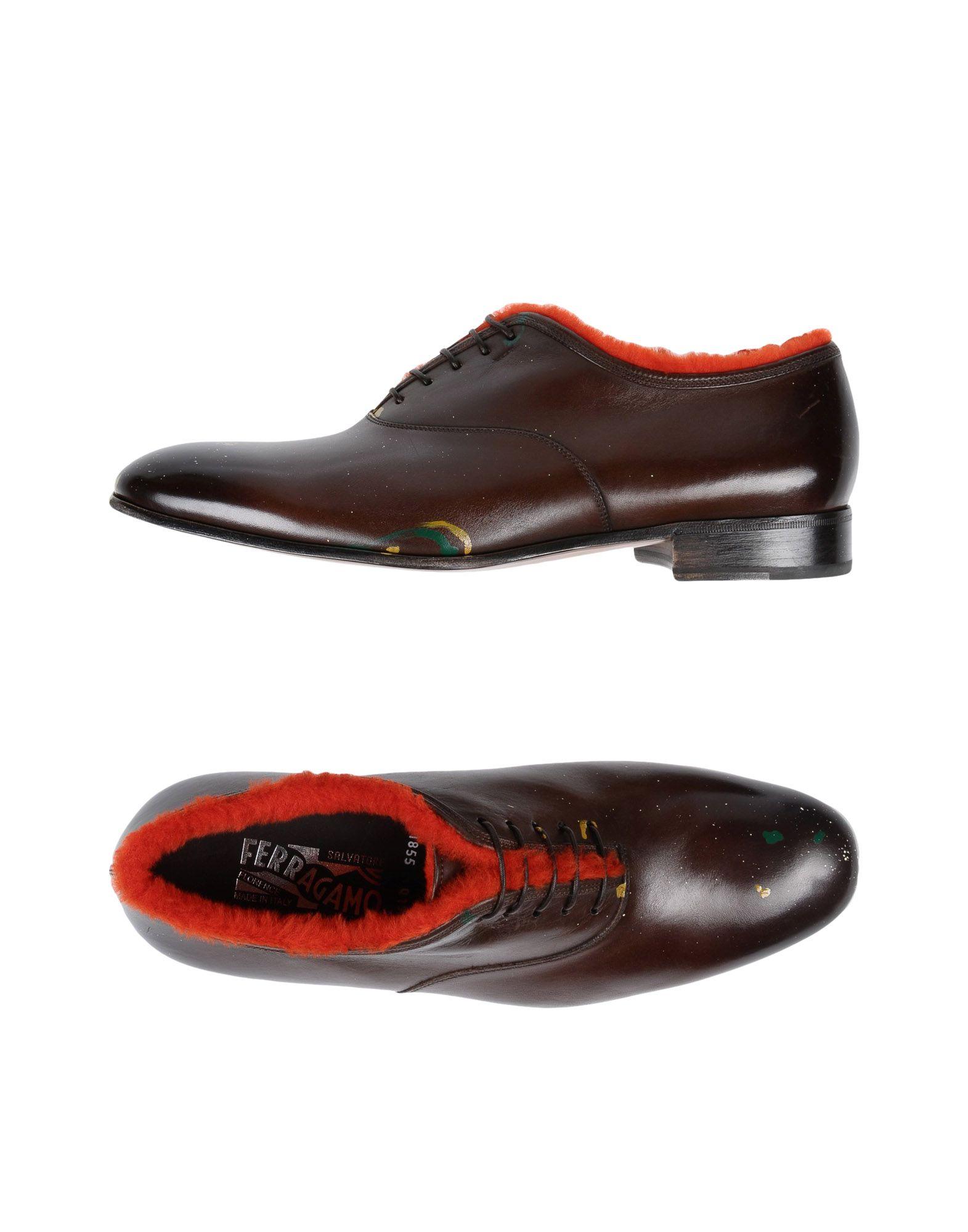 Salvatore Ferragamo Schnürschuhe Herren  11505283JF Gute Qualität beliebte Schuhe