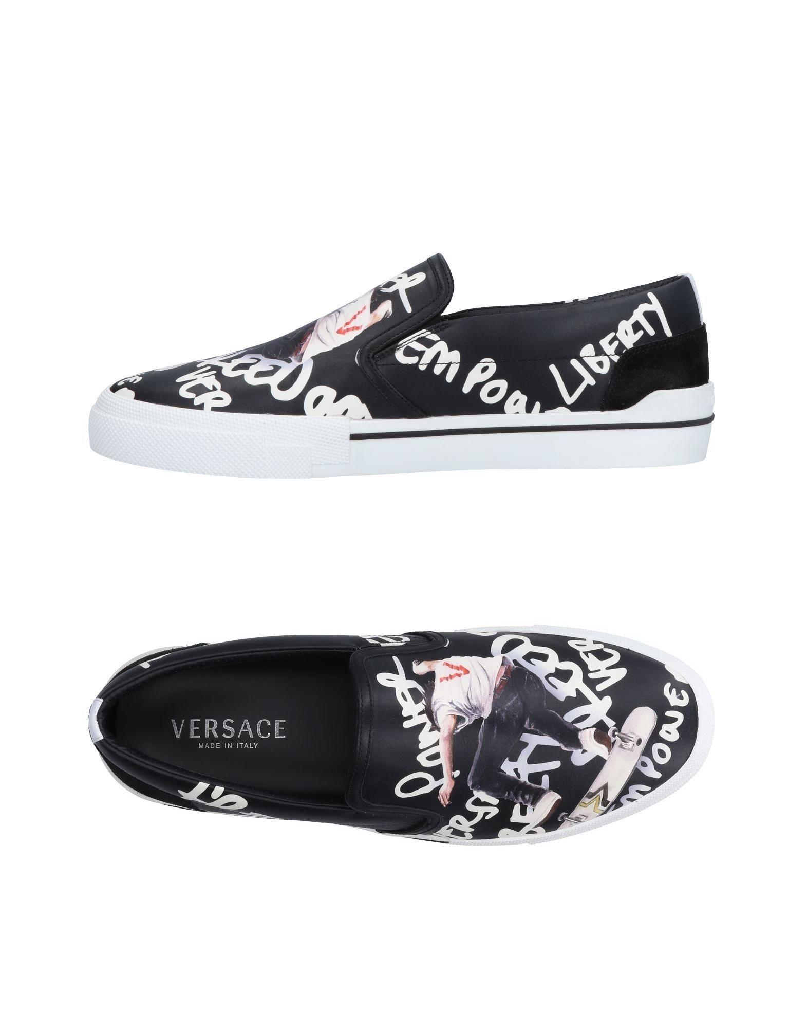 Sneakers Versace Homme - Sneakers Versace  Noir Super rabais