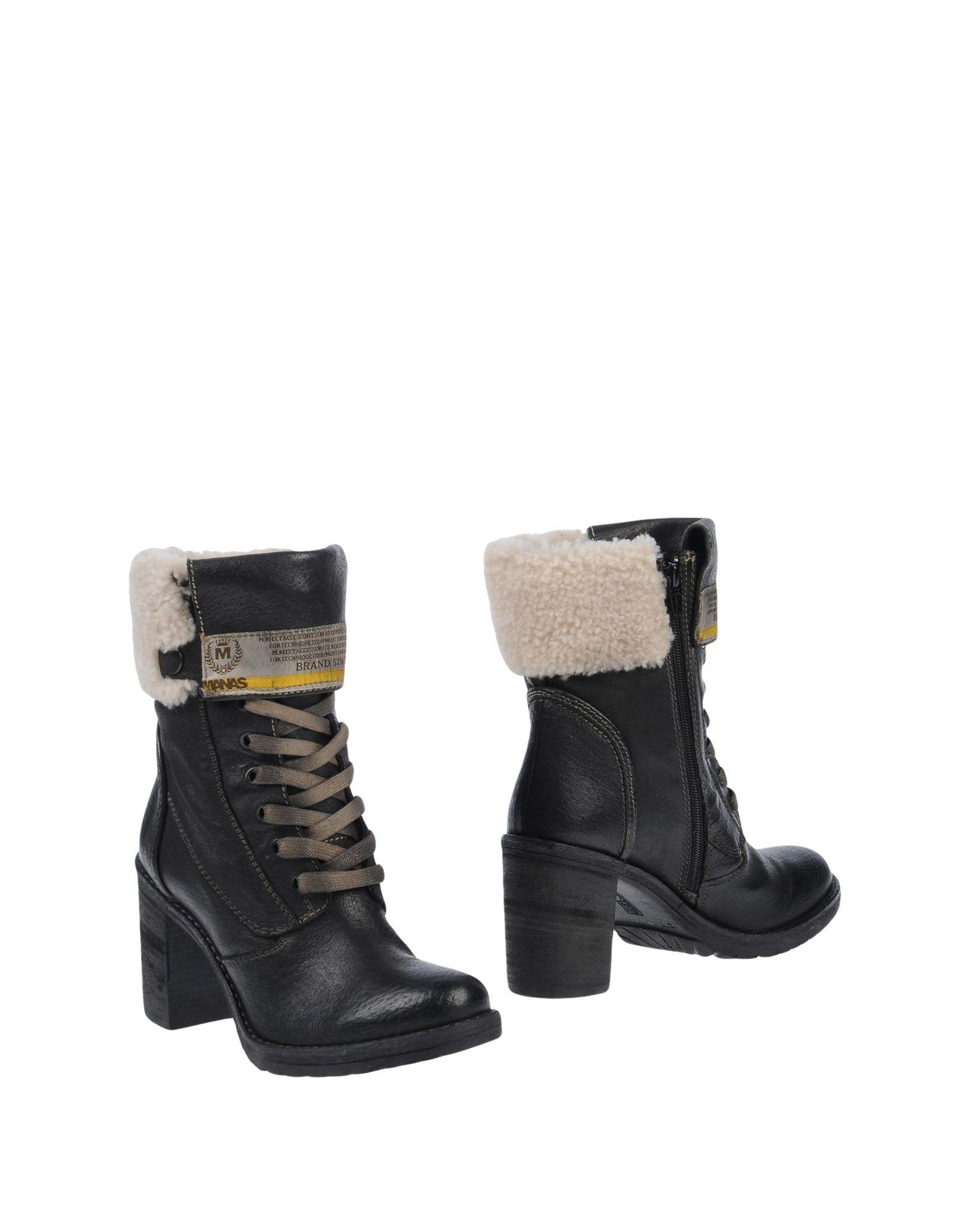 Manas Stiefelette Damen  11506122WF Gute Qualität beliebte Schuhe